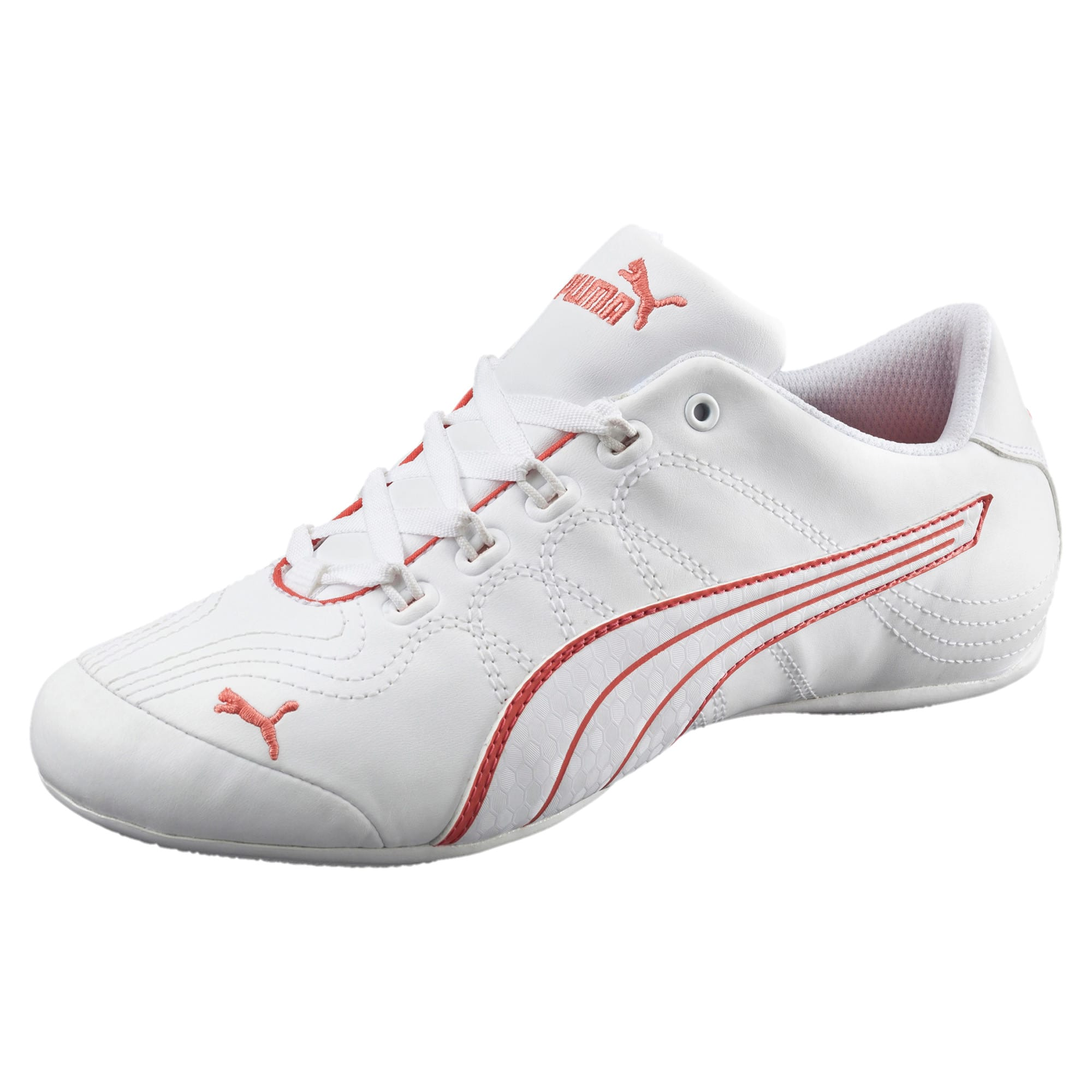 Thumbnail 1 of Soleil v2 Comfort Fun Women's Sneakers, Puma White-Porcelain Rose, medium
