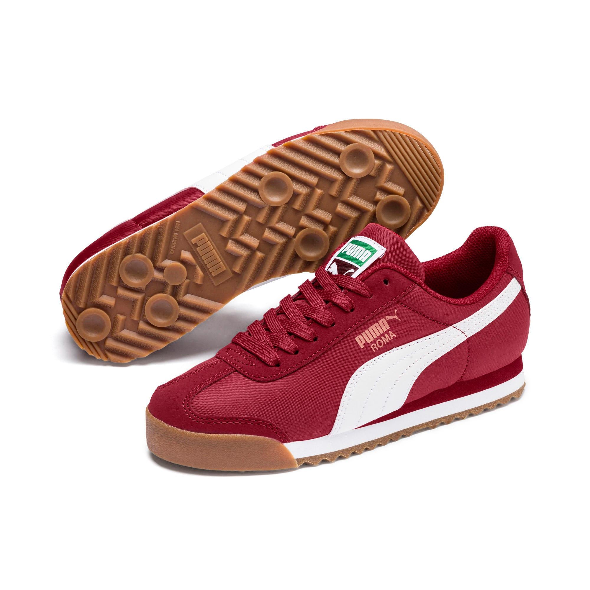 Thumbnail 2 of Roma Basic Summer Sneakers JR, Rhubarb-Puma White, medium