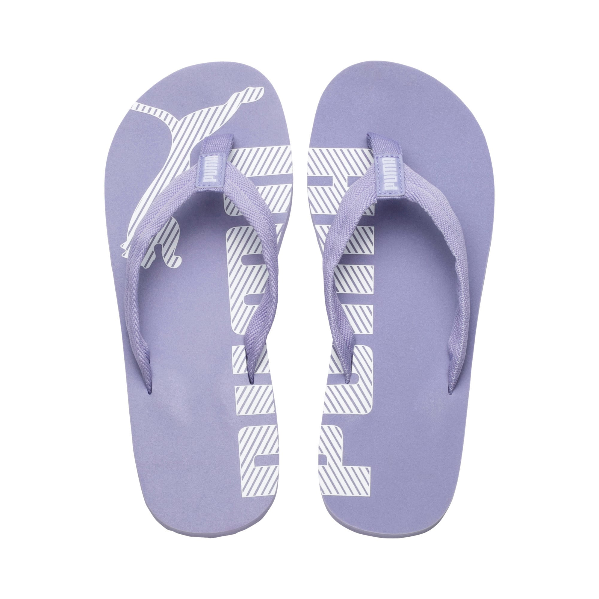 Thumbnail 6 of エピック フリップ V2 サンダル, Sweet Lavender-Puma White, medium-JPN
