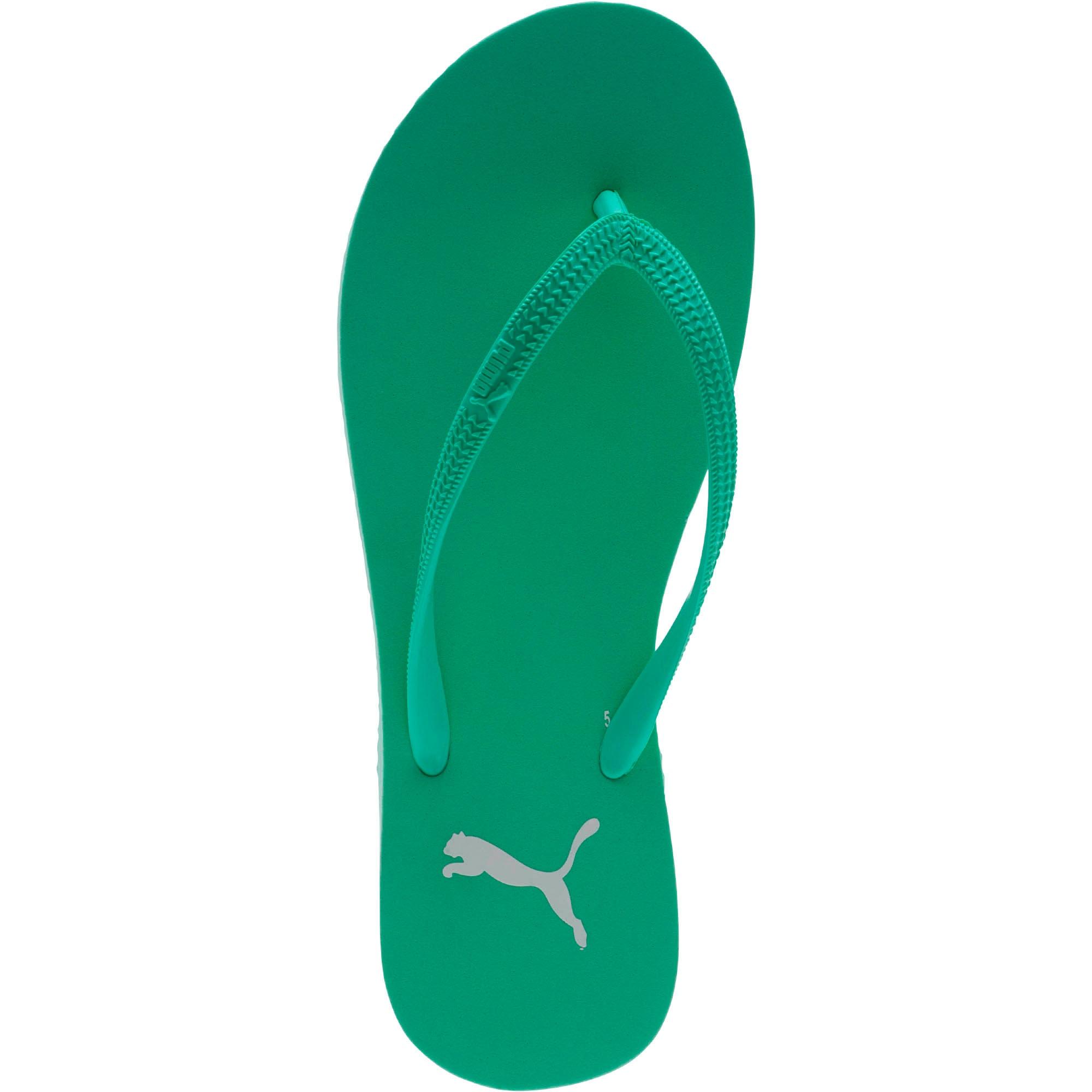 Miniatura 5 de Sandalias First Flip para mujer, Biscay Green-Puma White, mediano