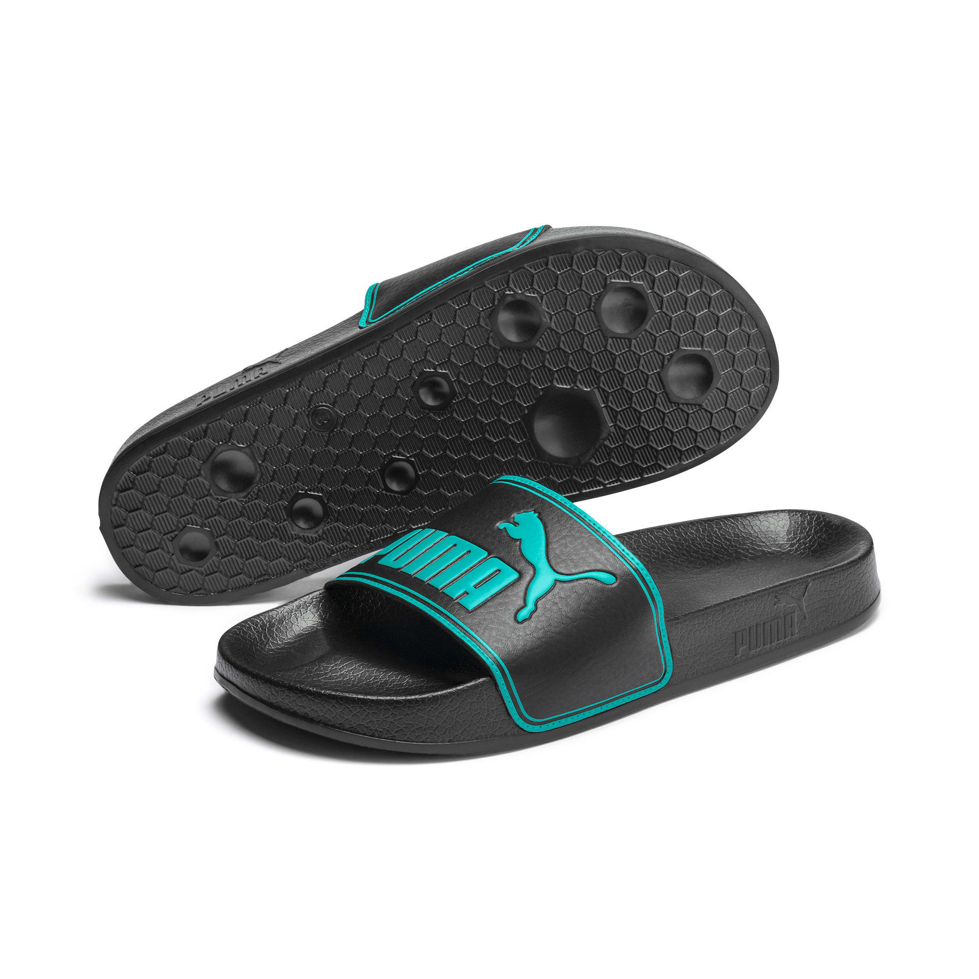 Thumbnail 2 of Leadcat Sandals, Puma Black-Blue Turquoise, medium