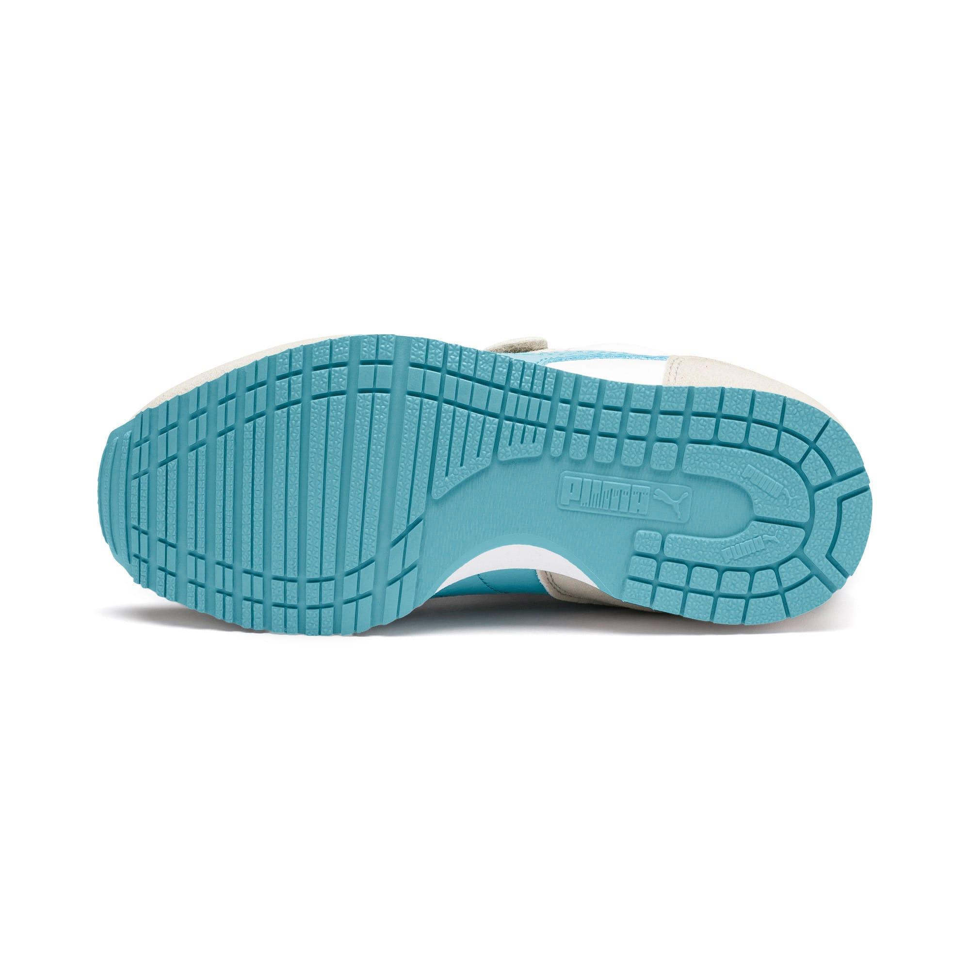 Thumbnail 4 of Cabana Racer SL AC Little Kids' Shoes, Puma White-Milky Blue, medium