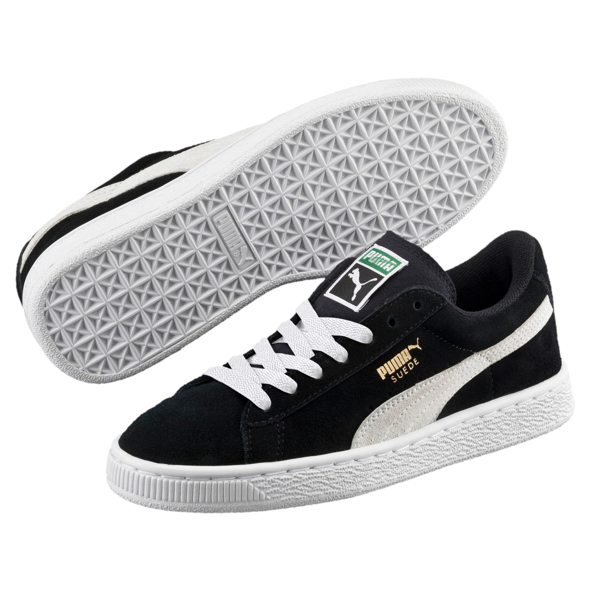 Imagen en miniatura 2 de Zapatillas de niño Suede, Puma Black-Puma White, mediana
