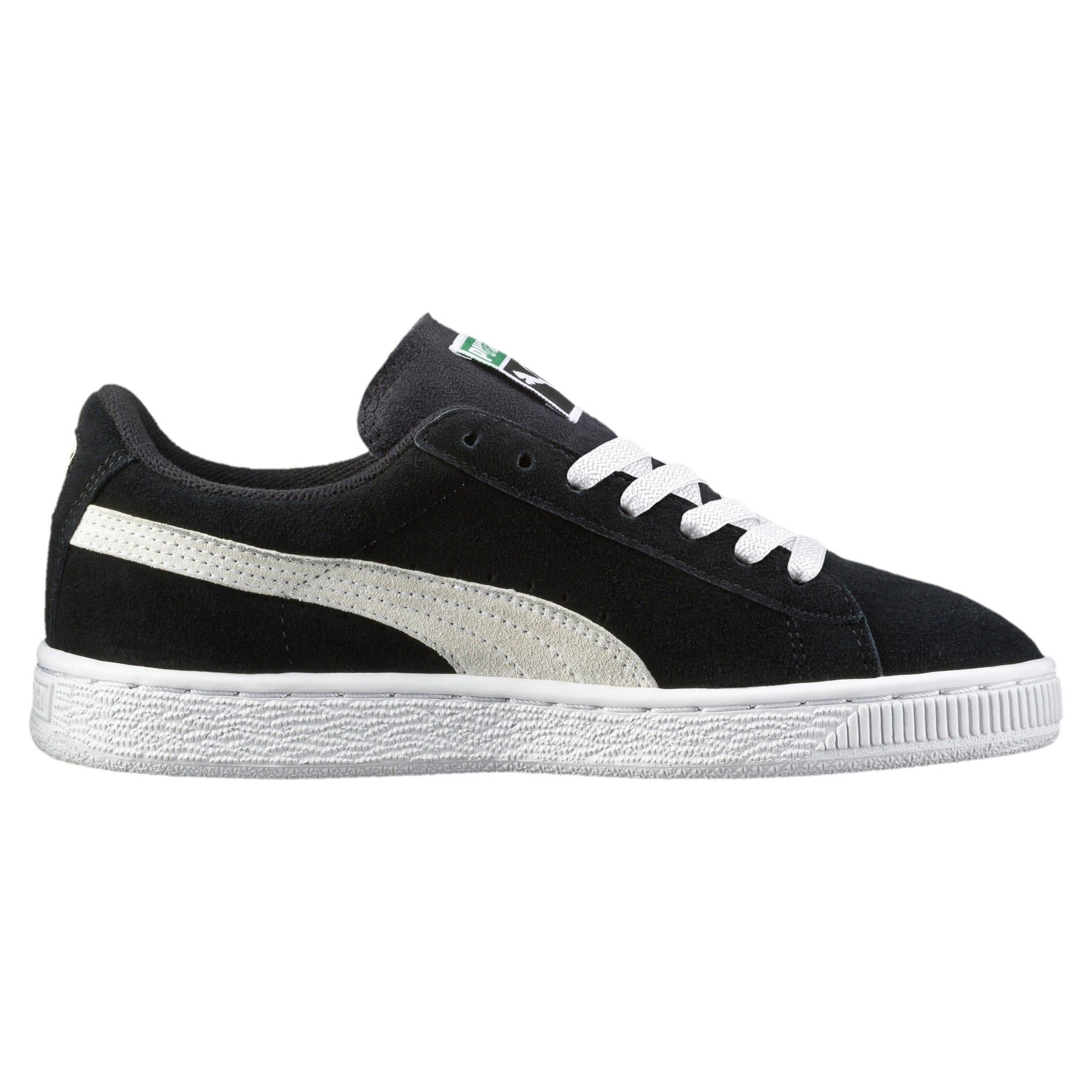 Imagen en miniatura 3 de Zapatillas de niño Suede, Puma Black-Puma White, mediana