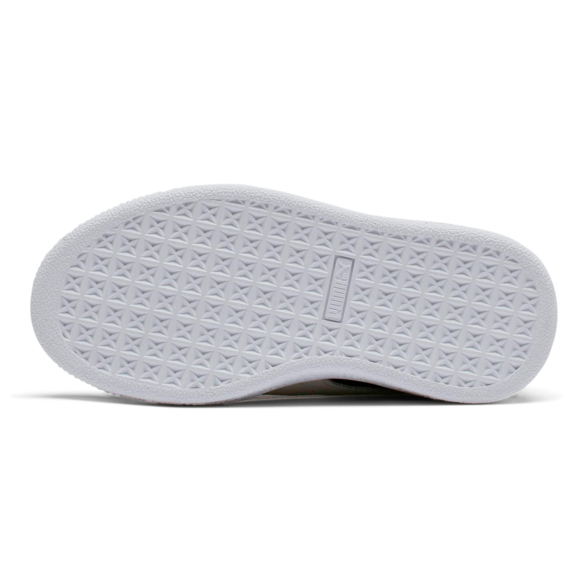 Thumbnail 3 of Suede Little Kids' Shoes, Puma Black-Puma White, medium