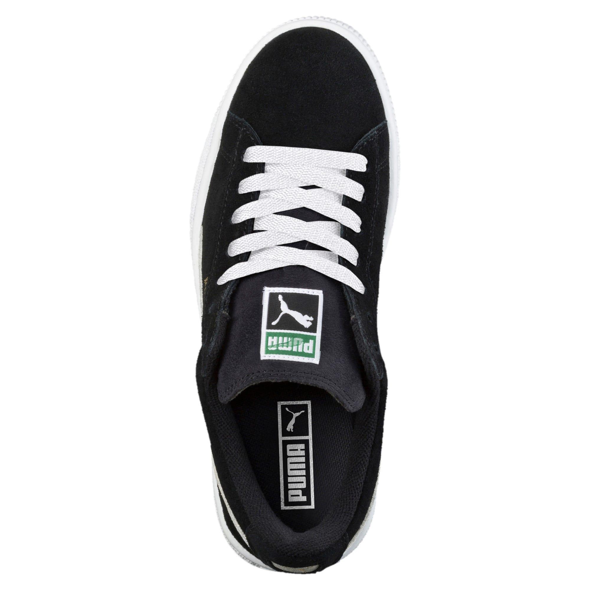 Imagen en miniatura 5 de Zapatillas de niño Suede, Puma Black-Puma White, mediana