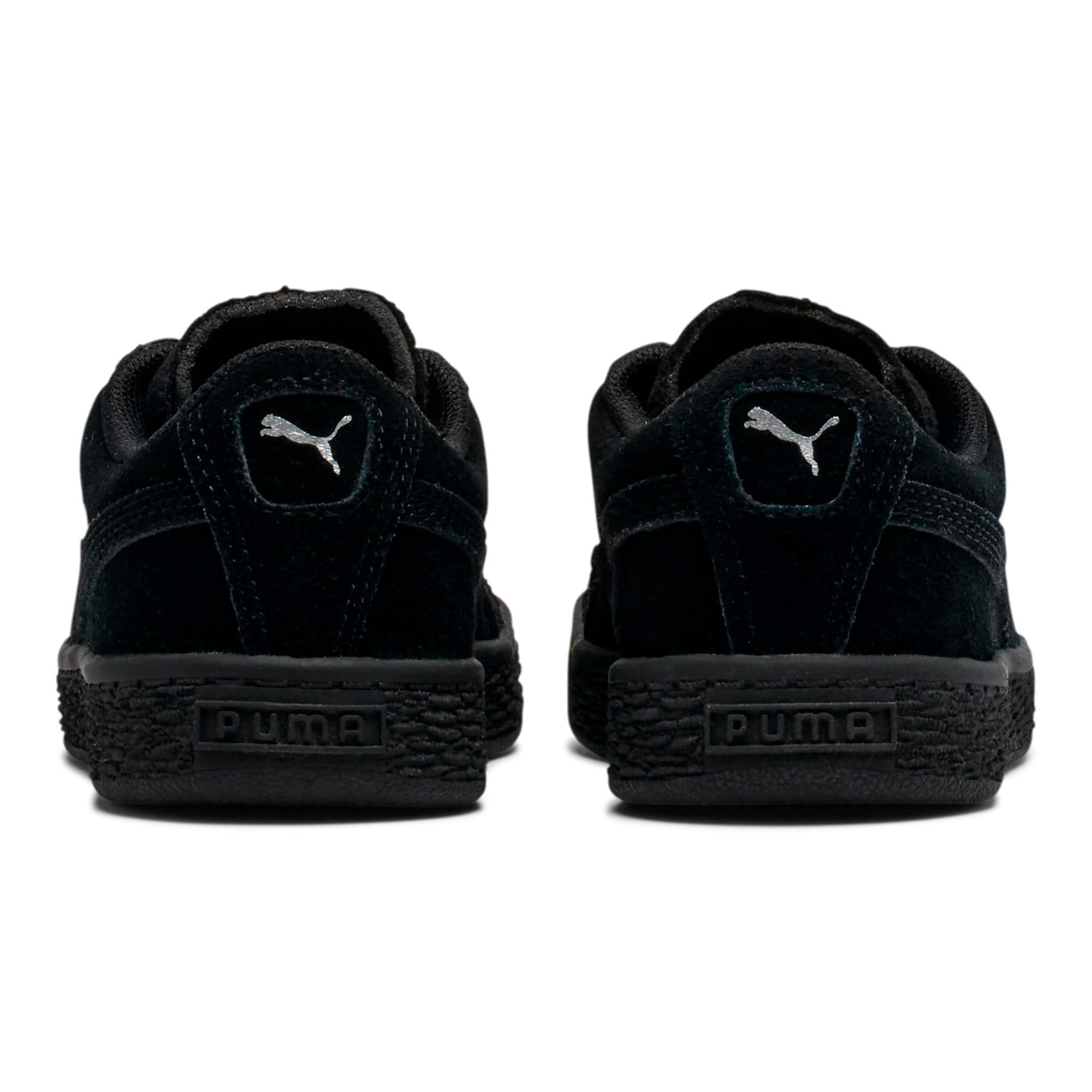 Miniatura 4 de Zapatos Suede para niños, Puma Black-Puma Silver, mediano