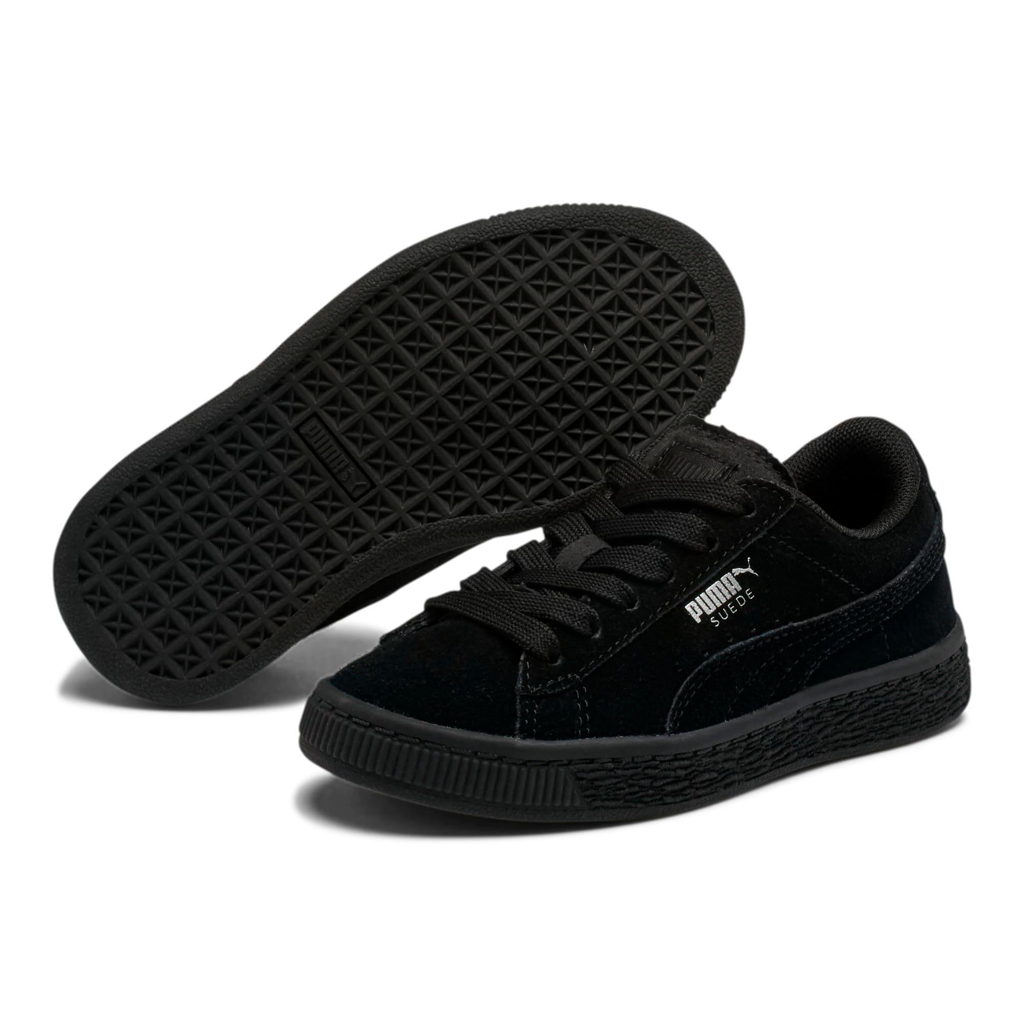 Miniatura 2 de Zapatos Suede para niños, Puma Black-Puma Silver, mediano