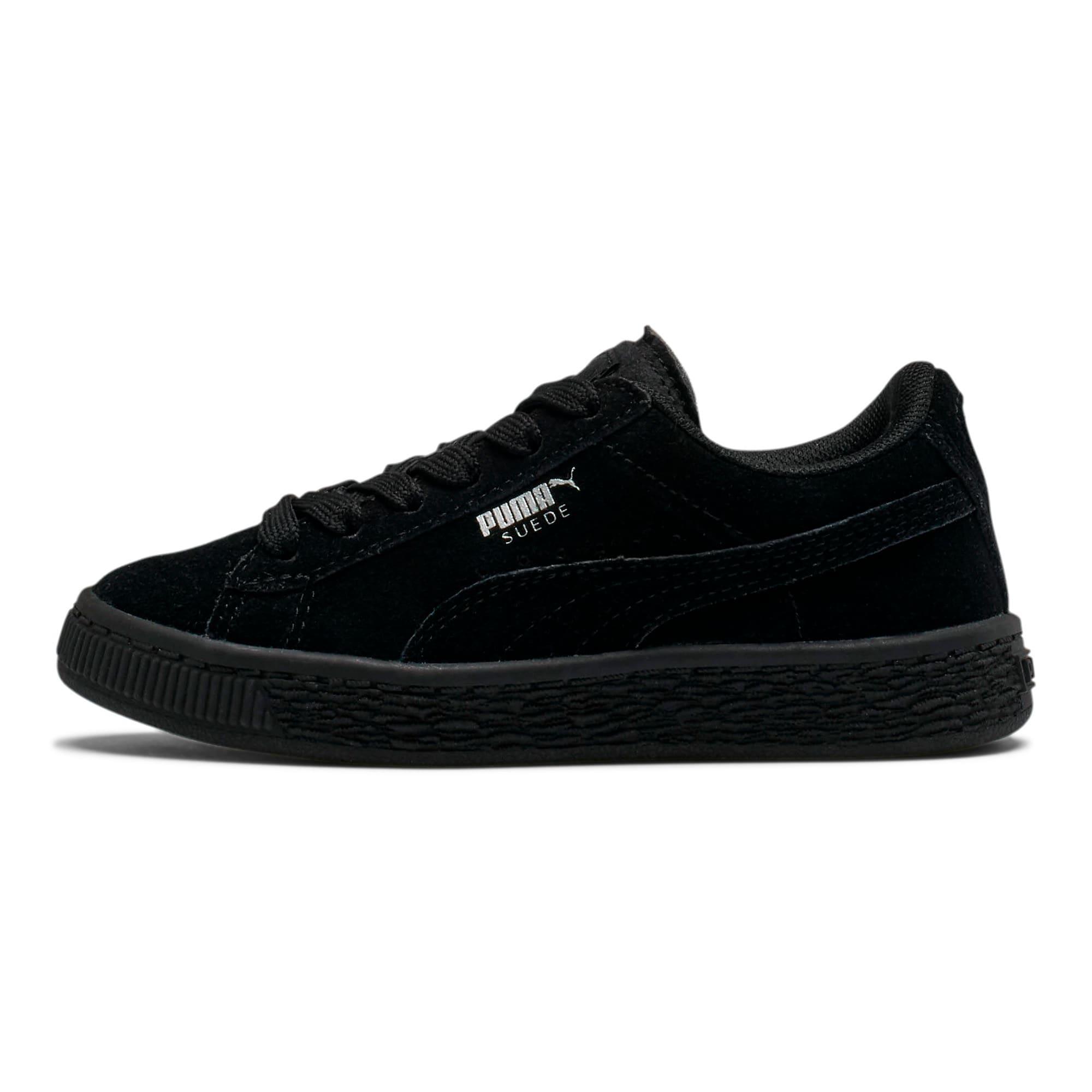 Miniatura 1 de Zapatos Suede para niños, Puma Black-Puma Silver, mediano