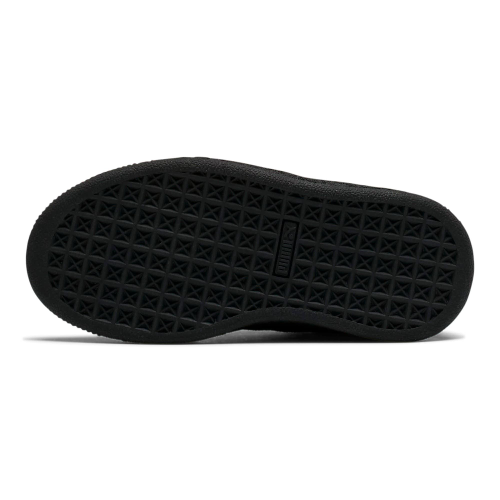 Miniatura 3 de Zapatos Suede para niños, Puma Black-Puma Silver, mediano