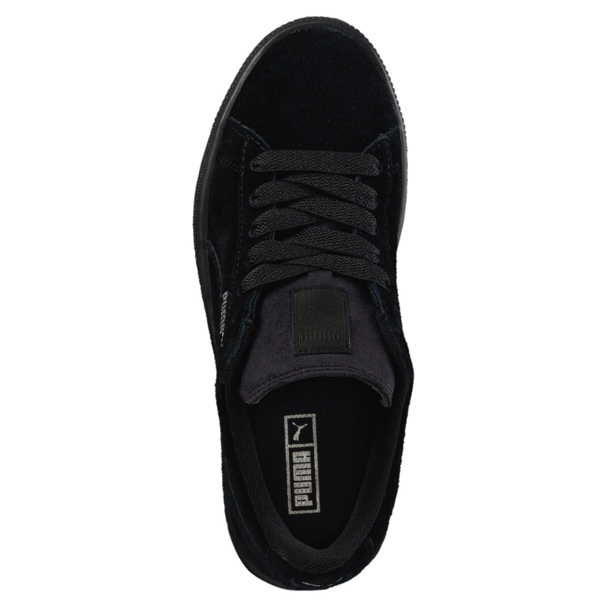 Miniatura 5 de Zapatos Suede para niños, Puma Black-Puma Silver, mediano