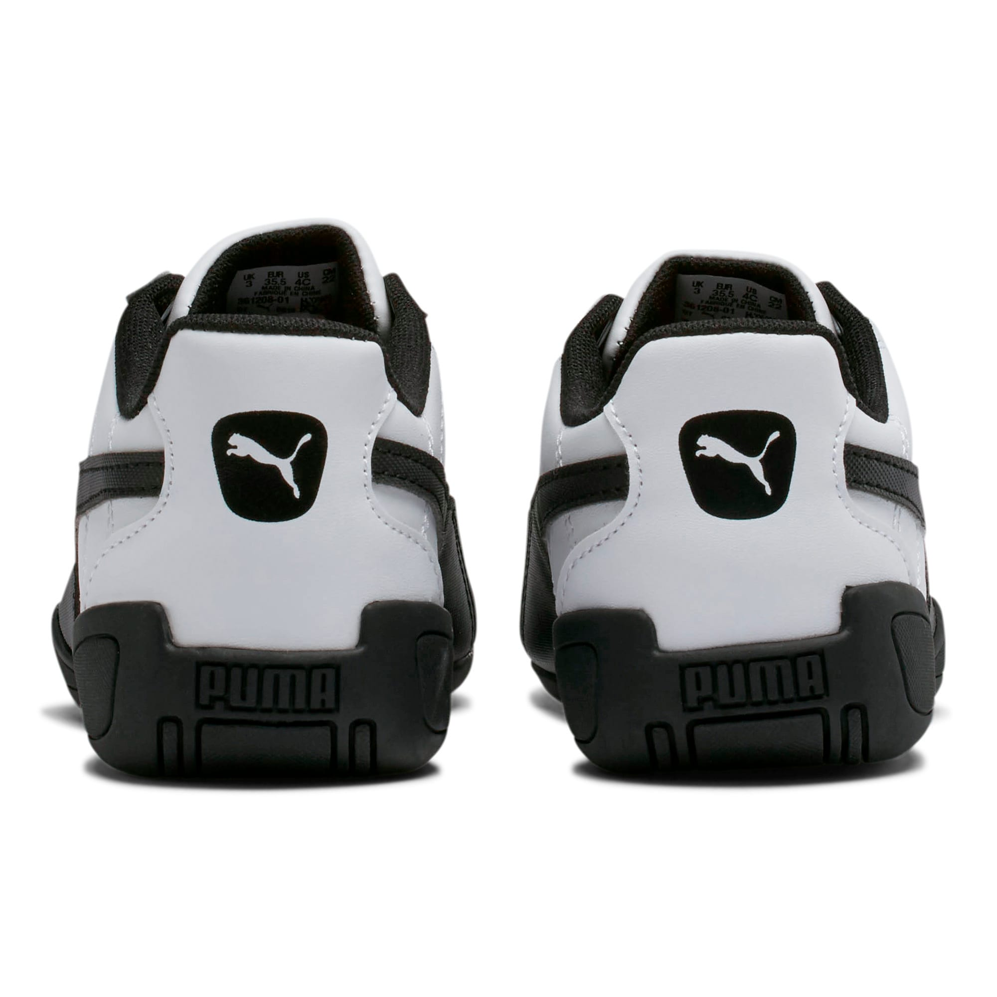 Thumbnail 4 of Tune Cat 3 Shoes JR, Puma White-Puma Black, medium