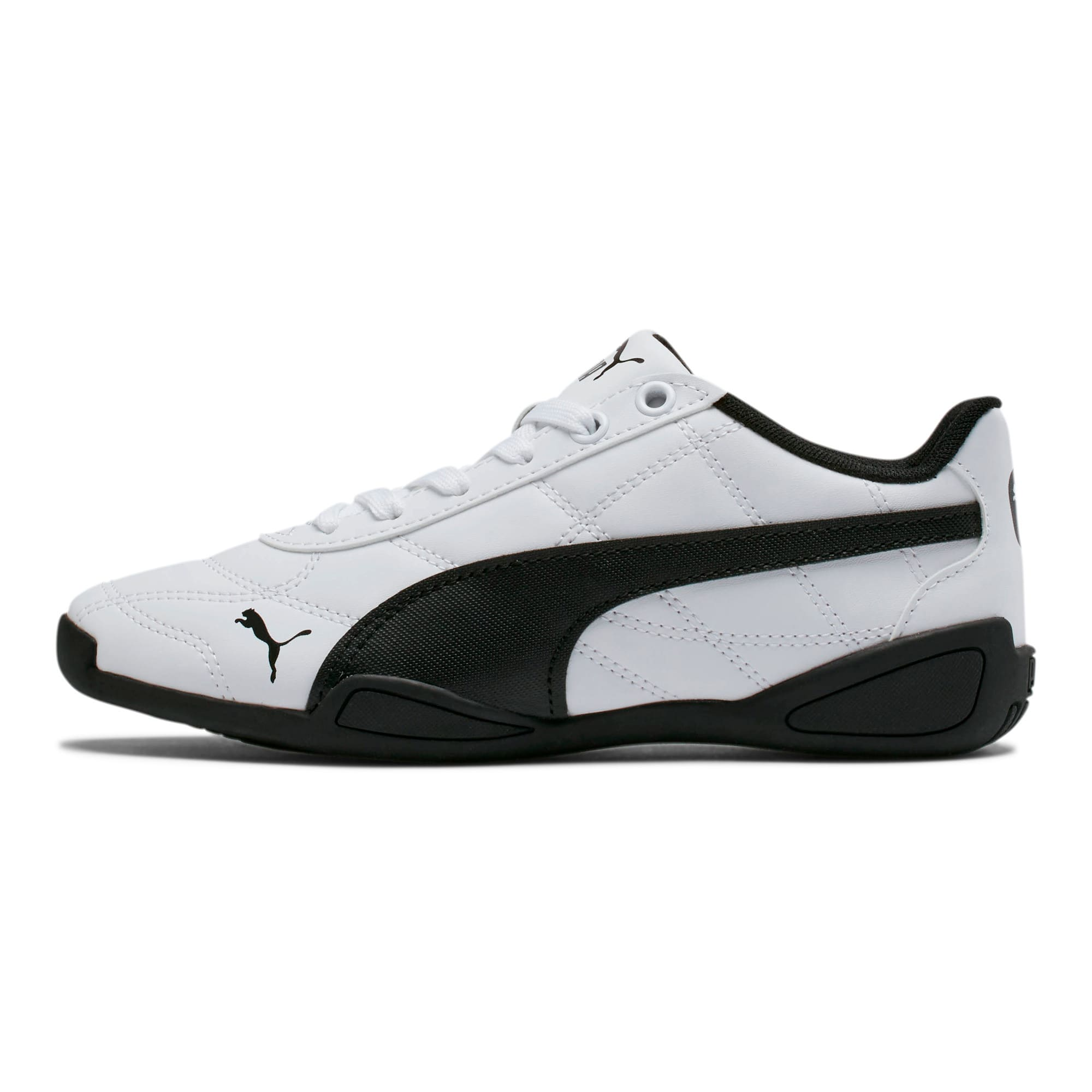 Thumbnail 1 of Tune Cat 3 Shoes JR, Puma White-Puma Black, medium