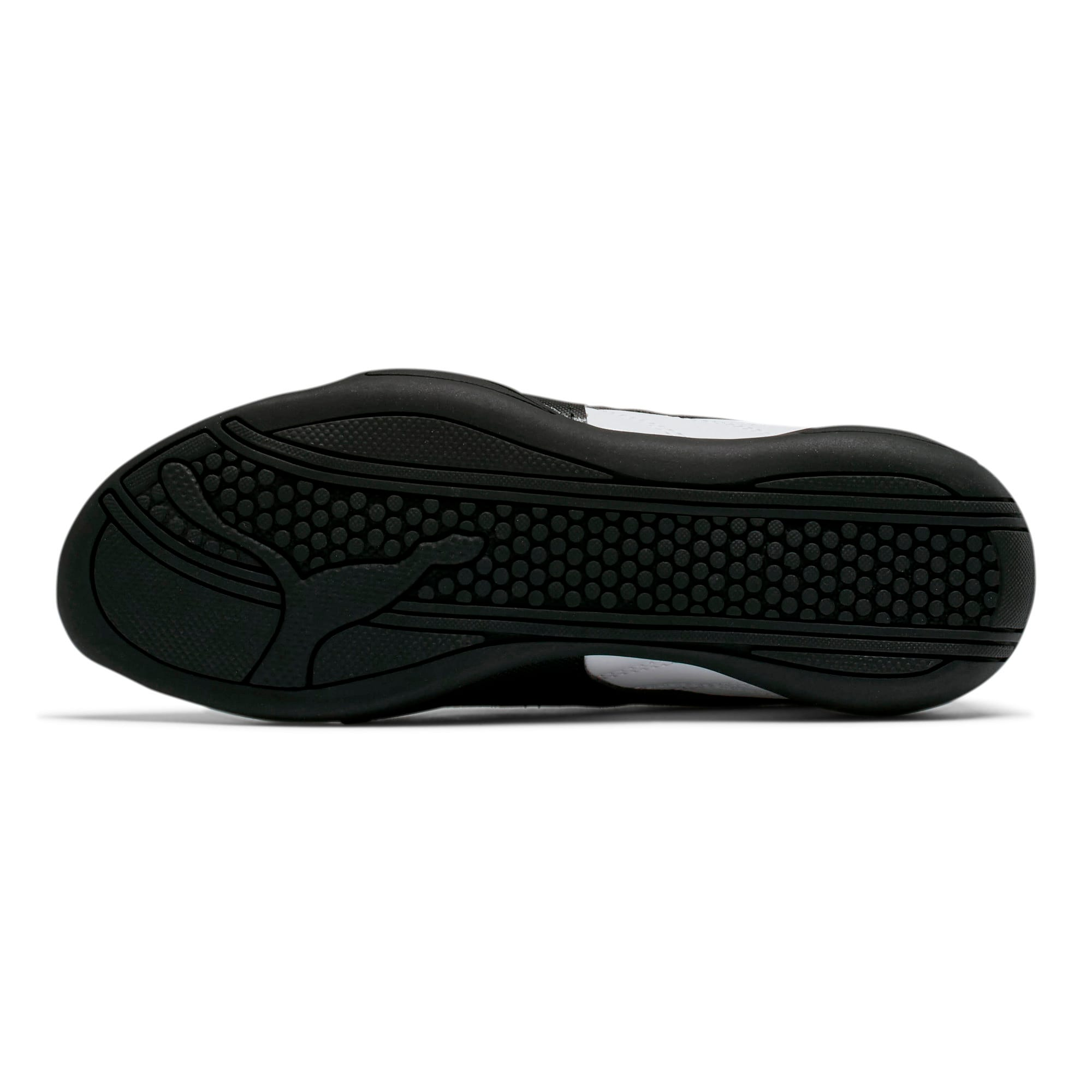 Thumbnail 3 of Tune Cat 3 Shoes JR, Puma White-Puma Black, medium