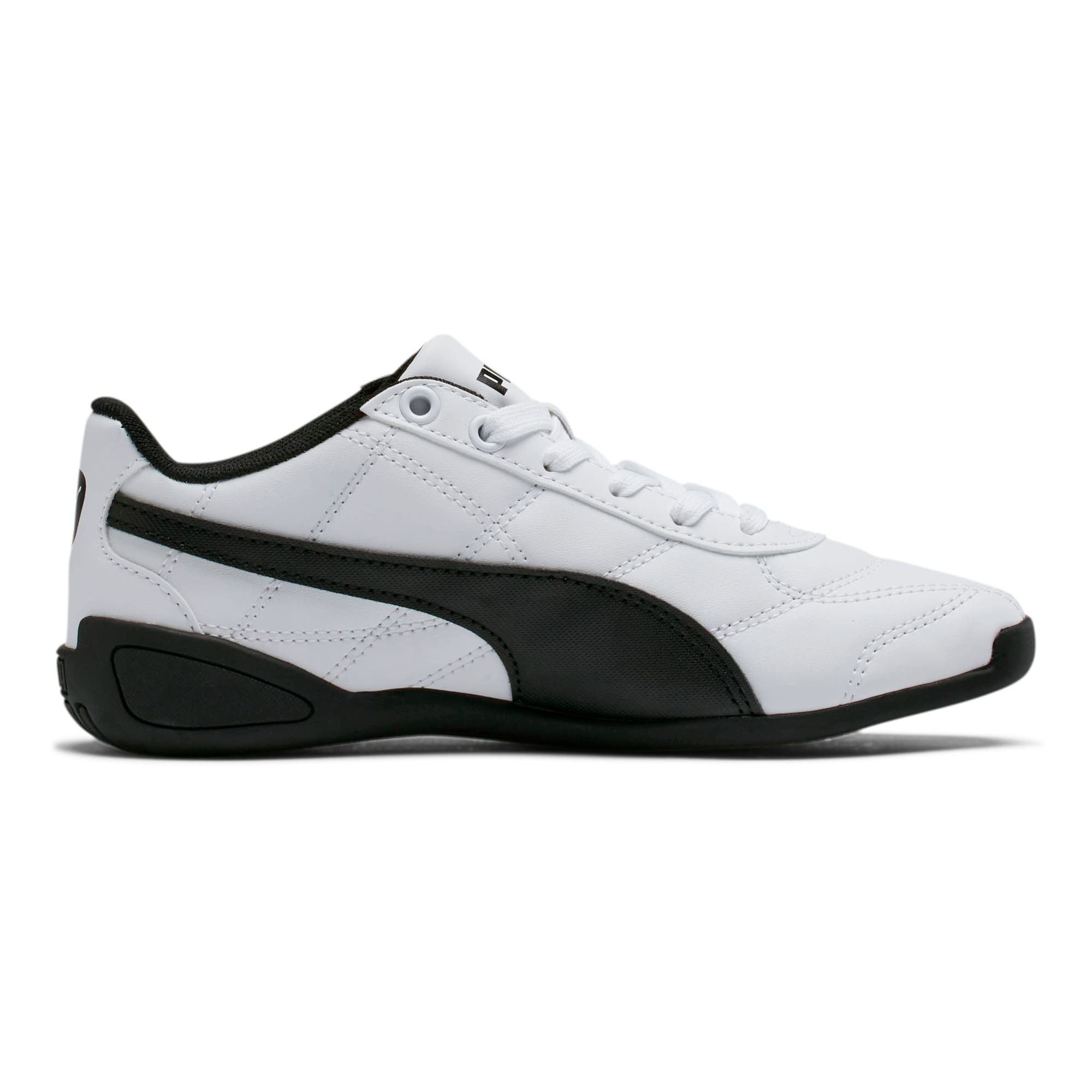 Thumbnail 5 of Tune Cat 3 Shoes JR, Puma White-Puma Black, medium