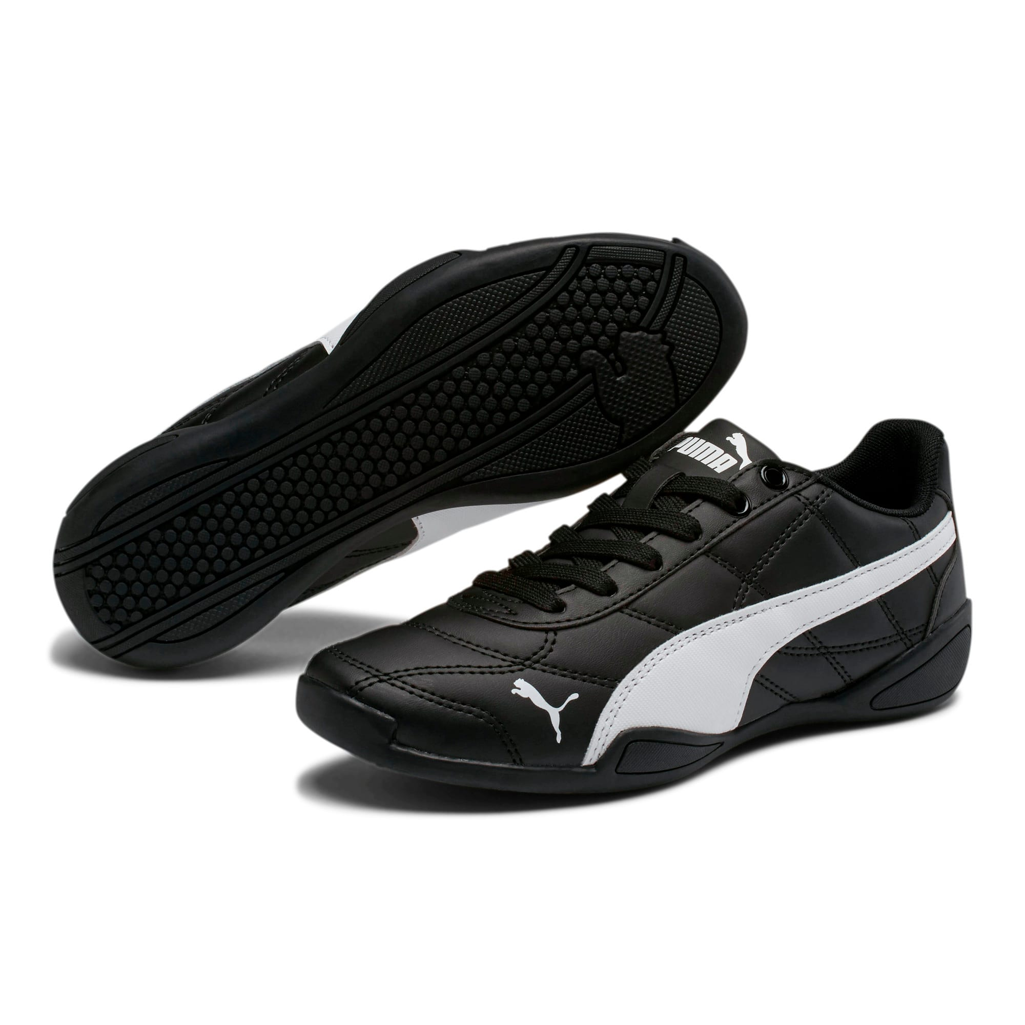 Thumbnail 2 of Tune Cat 3 Shoes JR, Puma Black-Puma White, medium