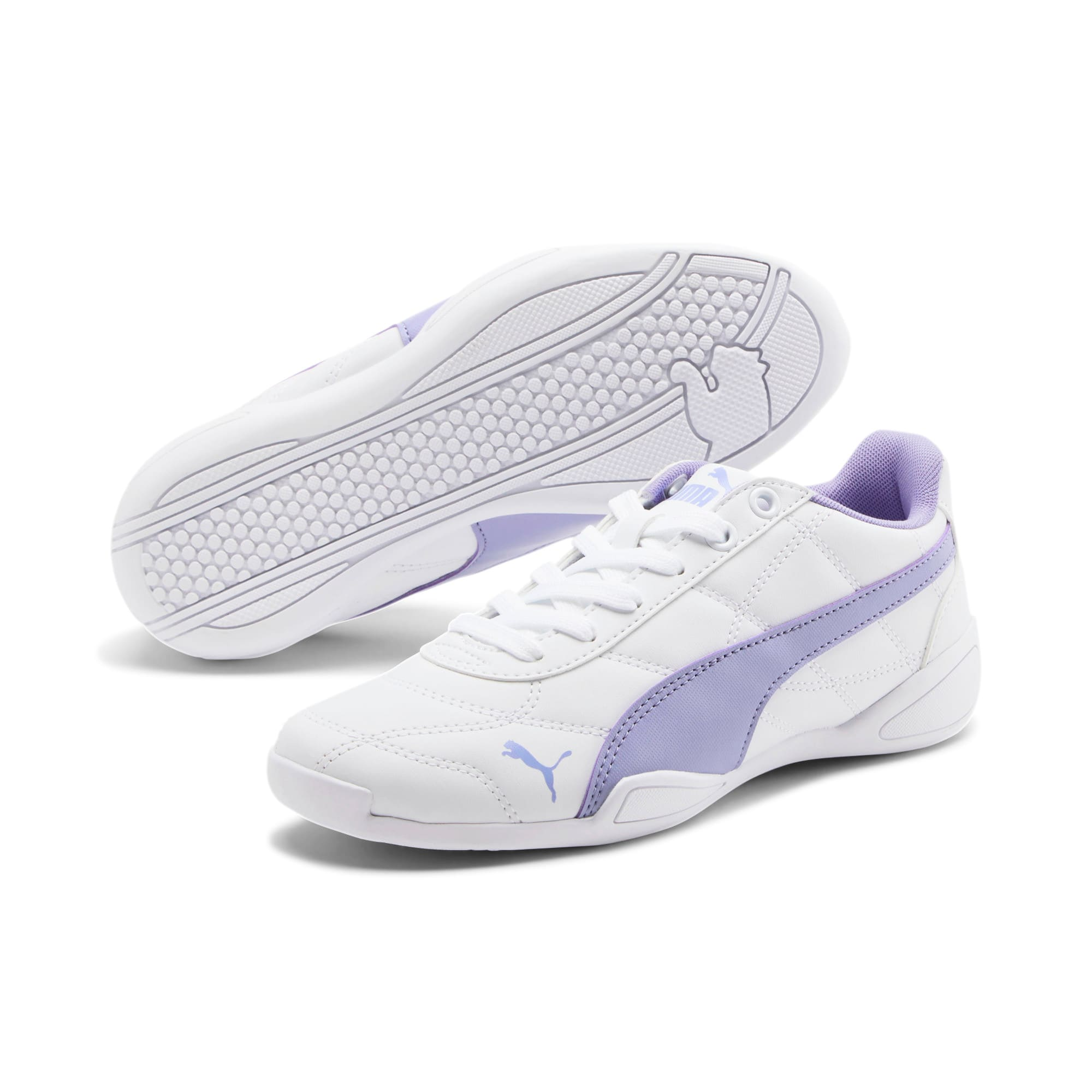 Miniatura 2 de ZapatosTune Cat 3para junior, Puma White-Sweet Lavender, mediano