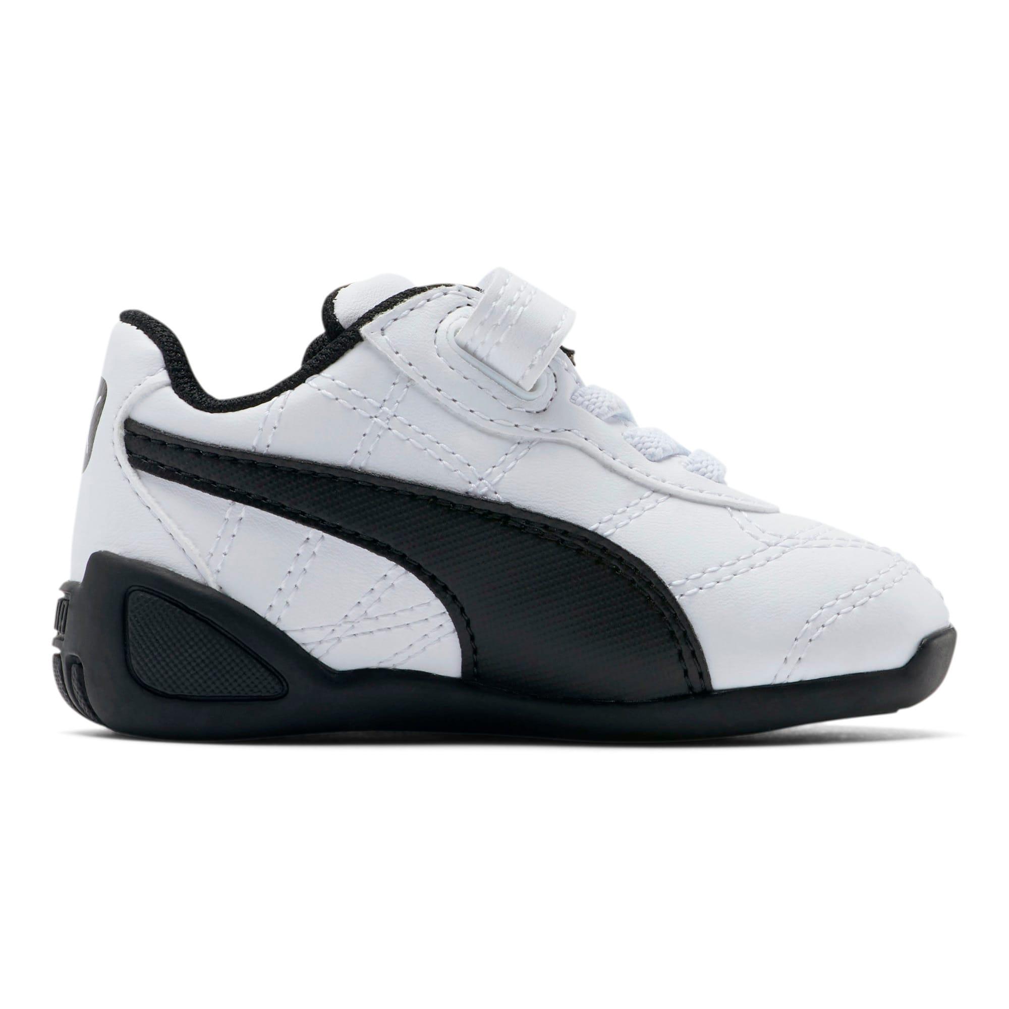 Miniatura 5 de Zapatos Tune Cat3AC para bebés, Puma White-Puma Black, mediano