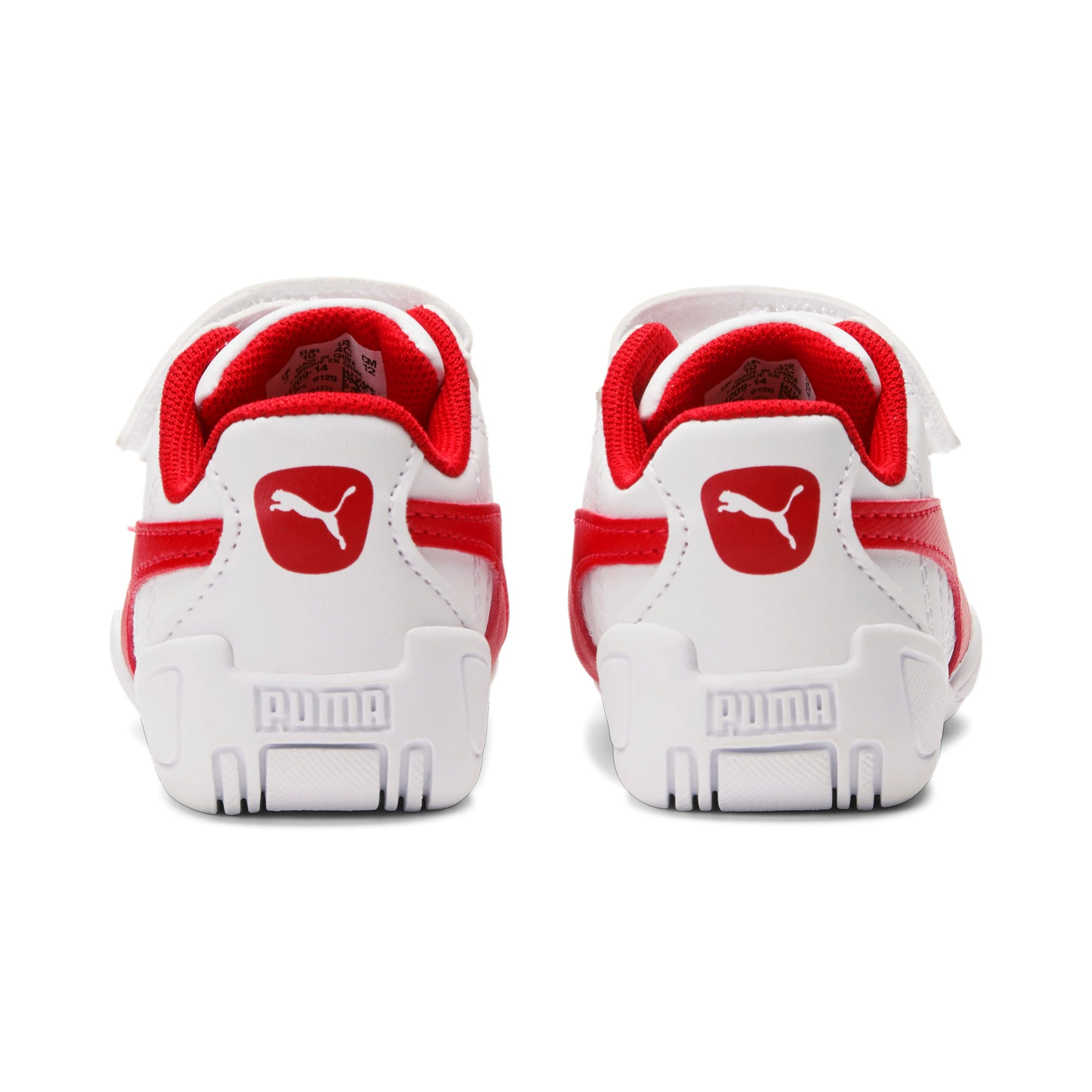 Miniatura 4 de Zapatos Tune Cat3AC para bebés, Puma White-Flame Scarlet, mediano