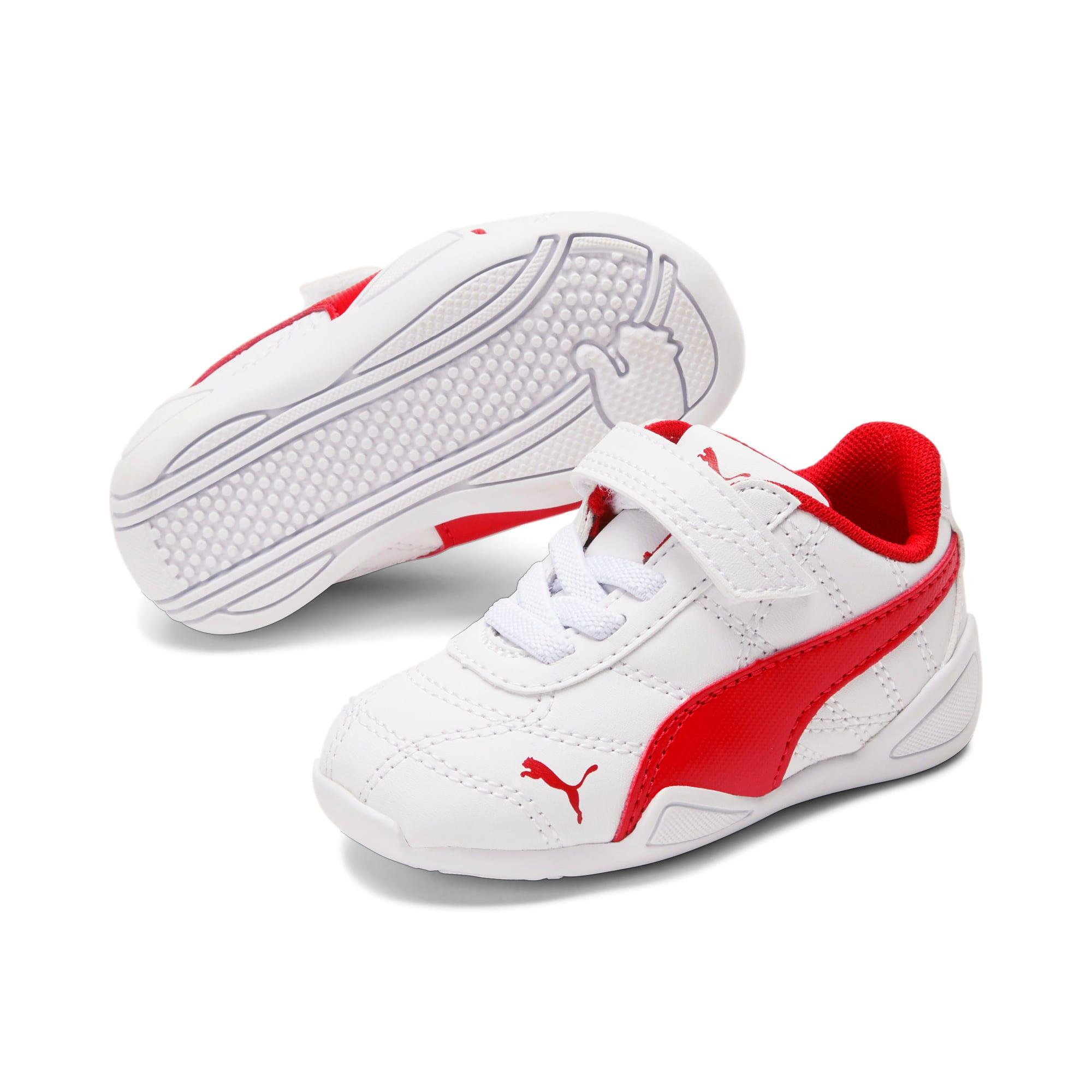 Miniatura 2 de Zapatos Tune Cat3AC para bebés, Puma White-Flame Scarlet, mediano