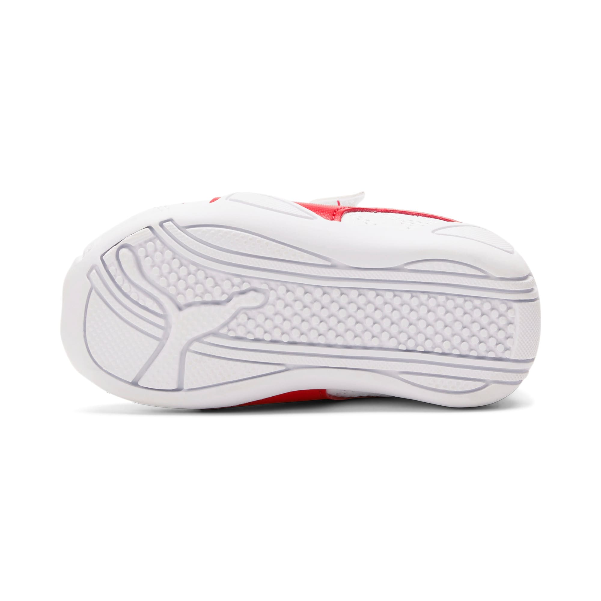 Miniatura 3 de Zapatos Tune Cat3AC para bebés, Puma White-Flame Scarlet, mediano