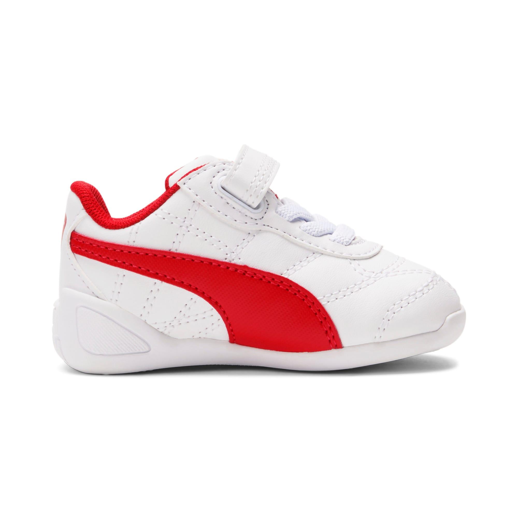 Miniatura 5 de Zapatos Tune Cat3AC para bebés, Puma White-Flame Scarlet, mediano
