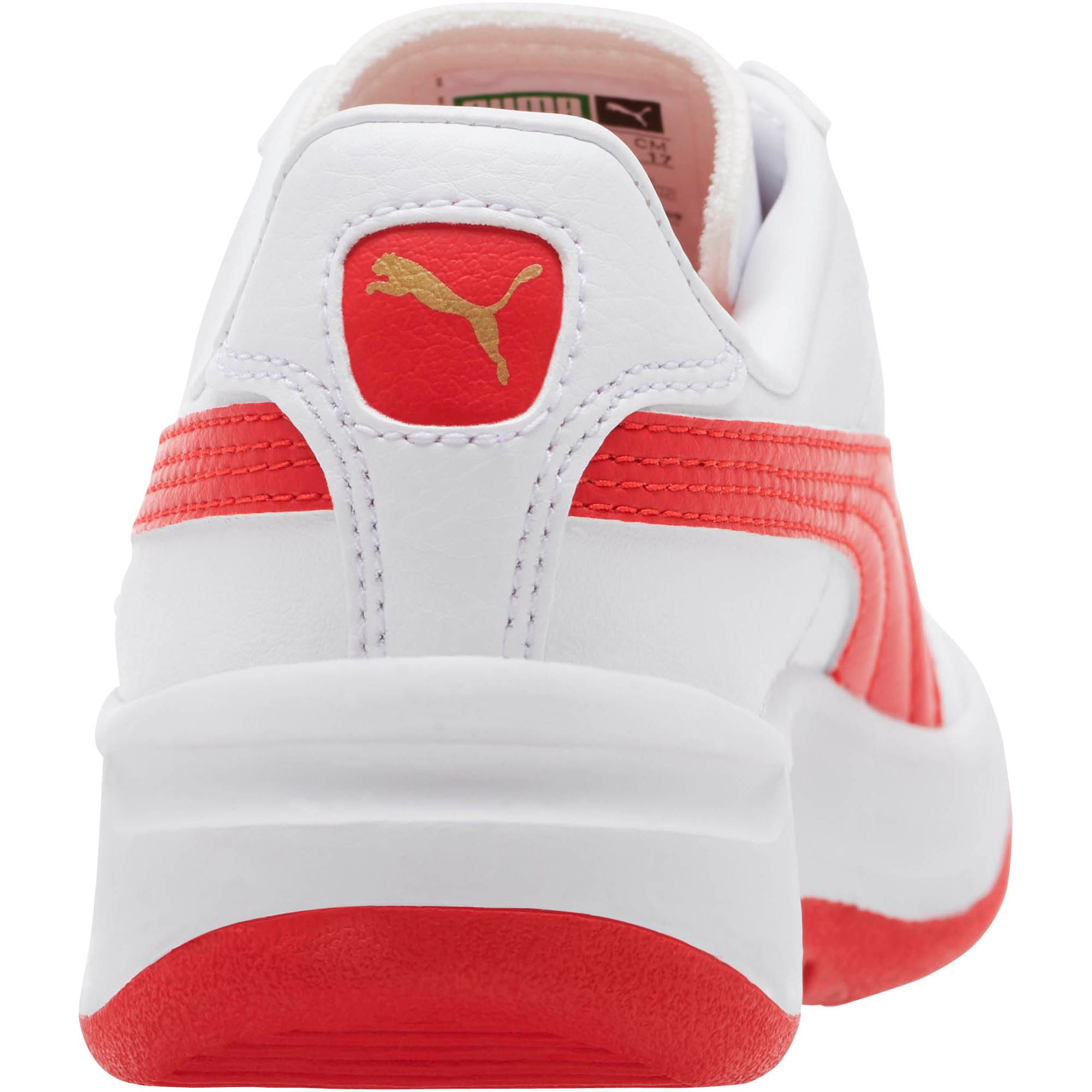 Thumbnail 4 of GV Special Little Kids' Shoes, Puma White-Ribbon Red, medium