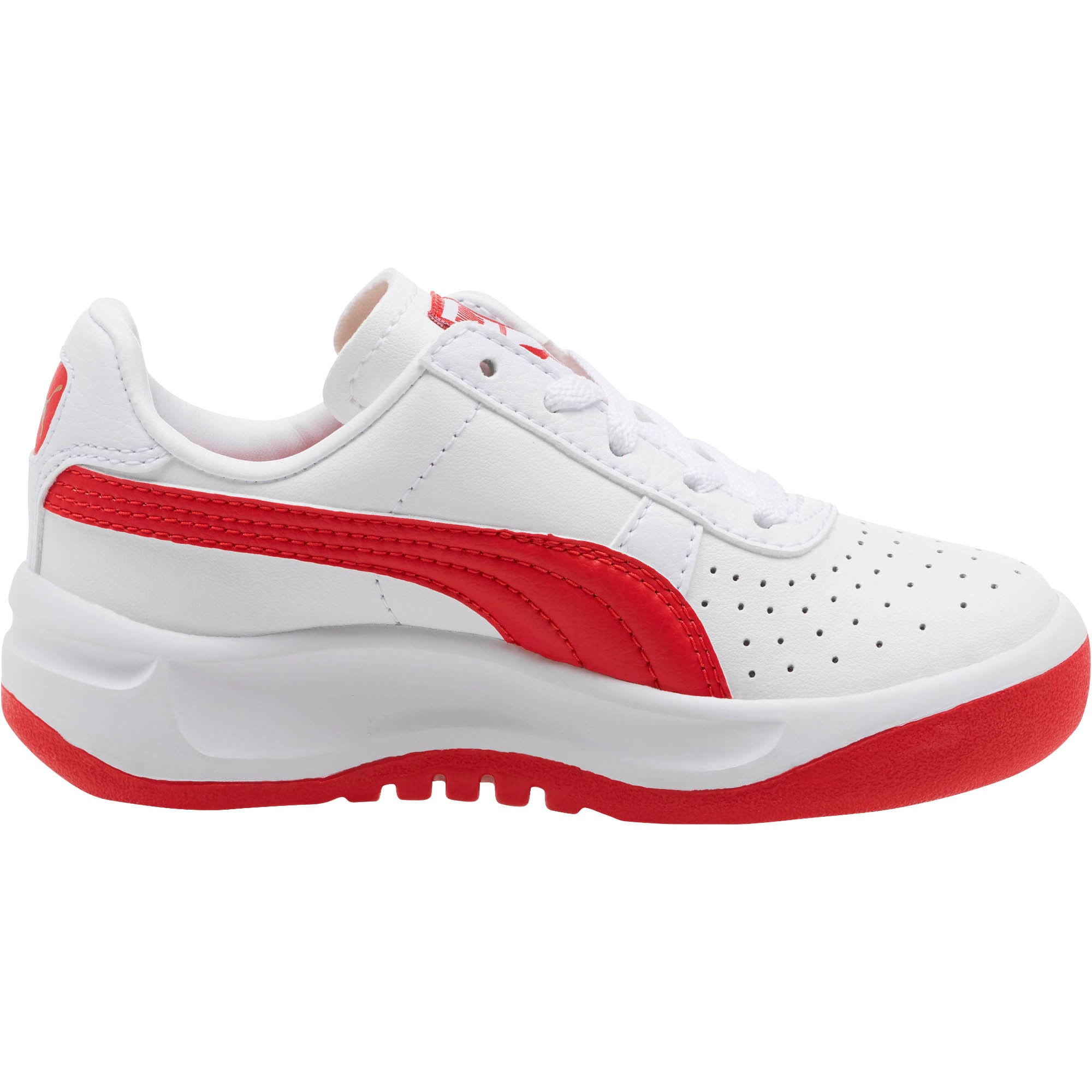 Thumbnail 3 of GV Special Little Kids' Shoes, Puma White-Ribbon Red, medium