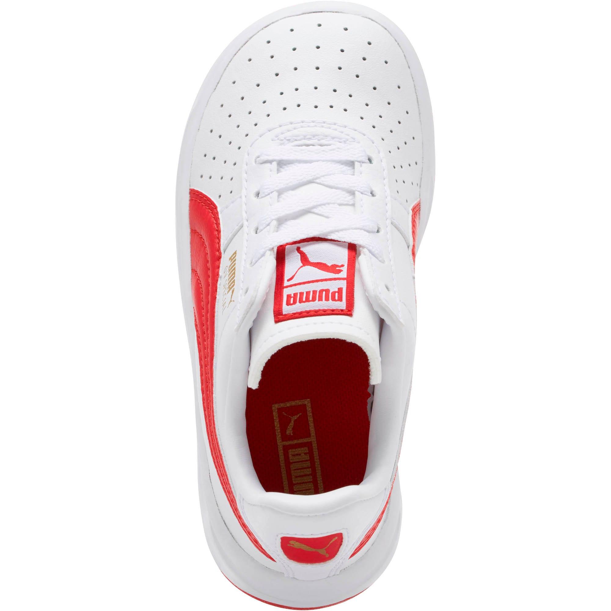 Thumbnail 5 of GV Special Little Kids' Shoes, Puma White-Ribbon Red, medium