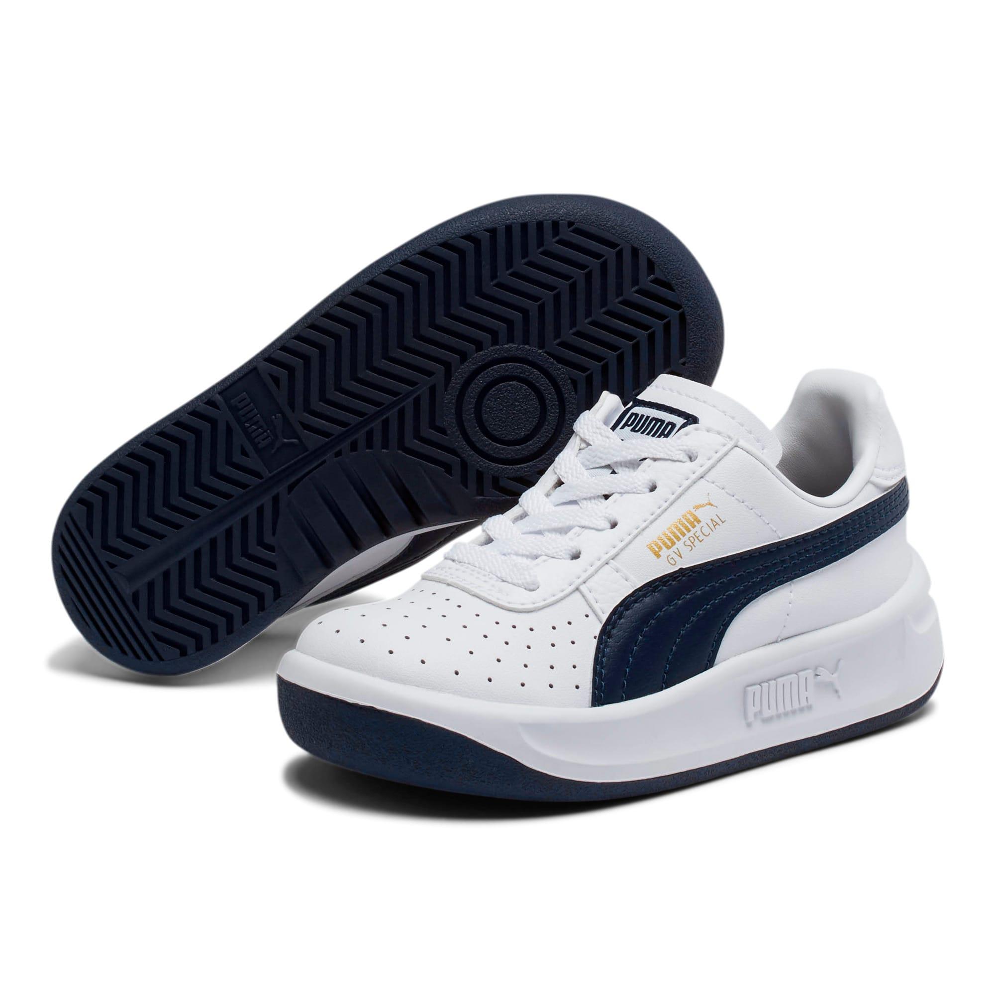 Thumbnail 2 of GV Special Little Kids' Shoes, Puma White-Peacoat, medium