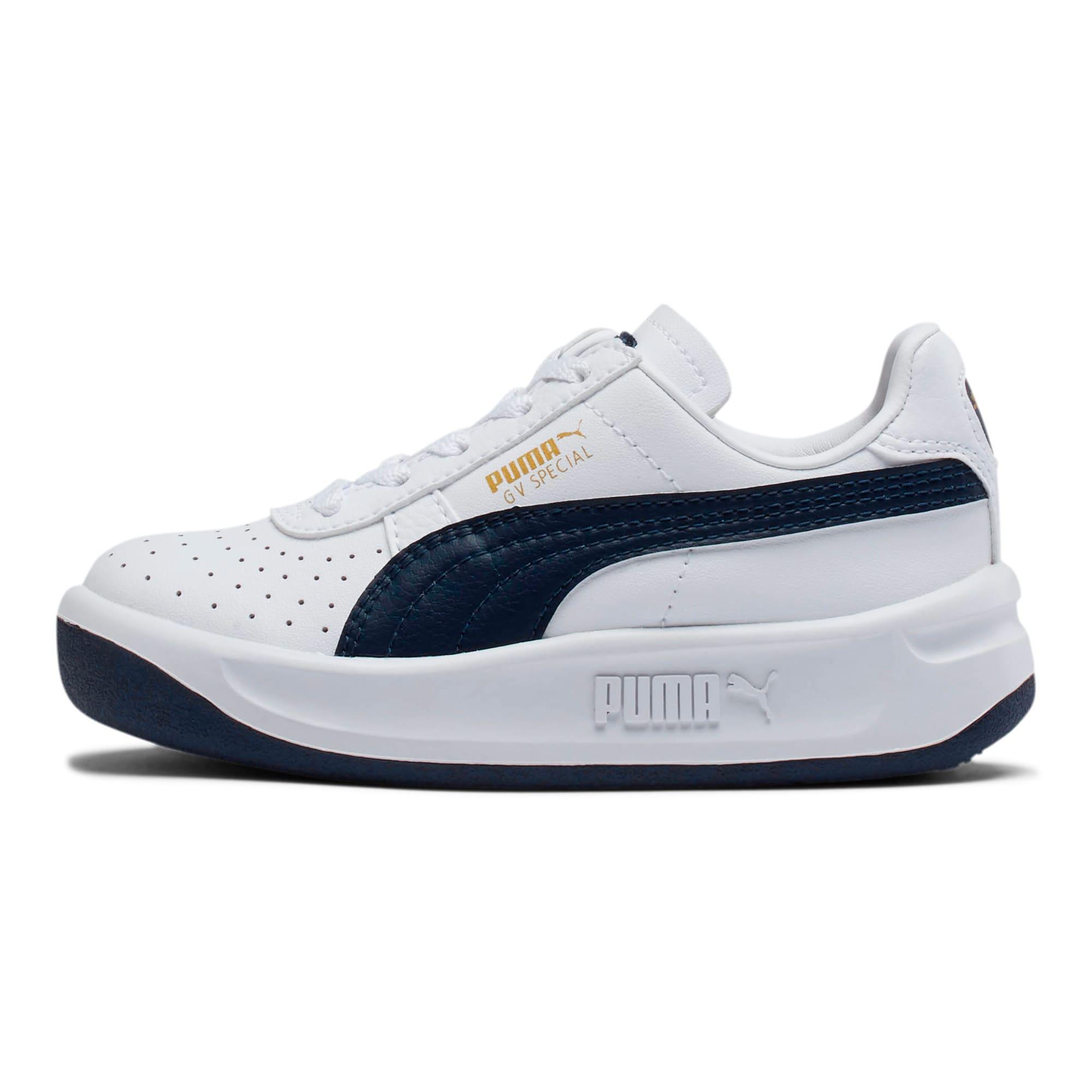 Thumbnail 1 of GV Special Little Kids' Shoes, Puma White-Peacoat, medium