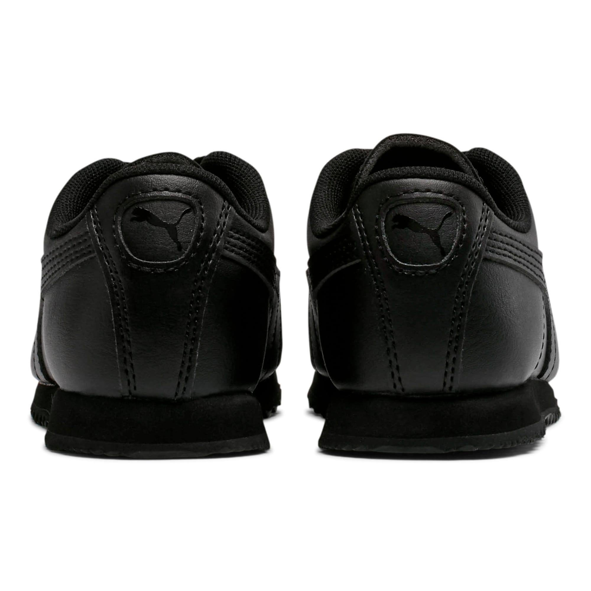 Thumbnail 4 of Roma Basic Little Kids' Shoes, Puma Black-Puma Black, medium