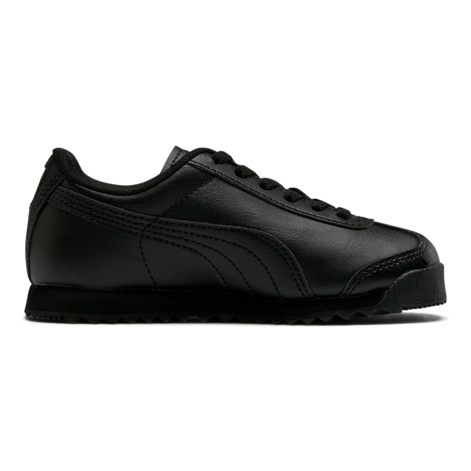 Thumbnail 5 of Roma Basic Little Kids' Shoes, Puma Black-Puma Black, medium