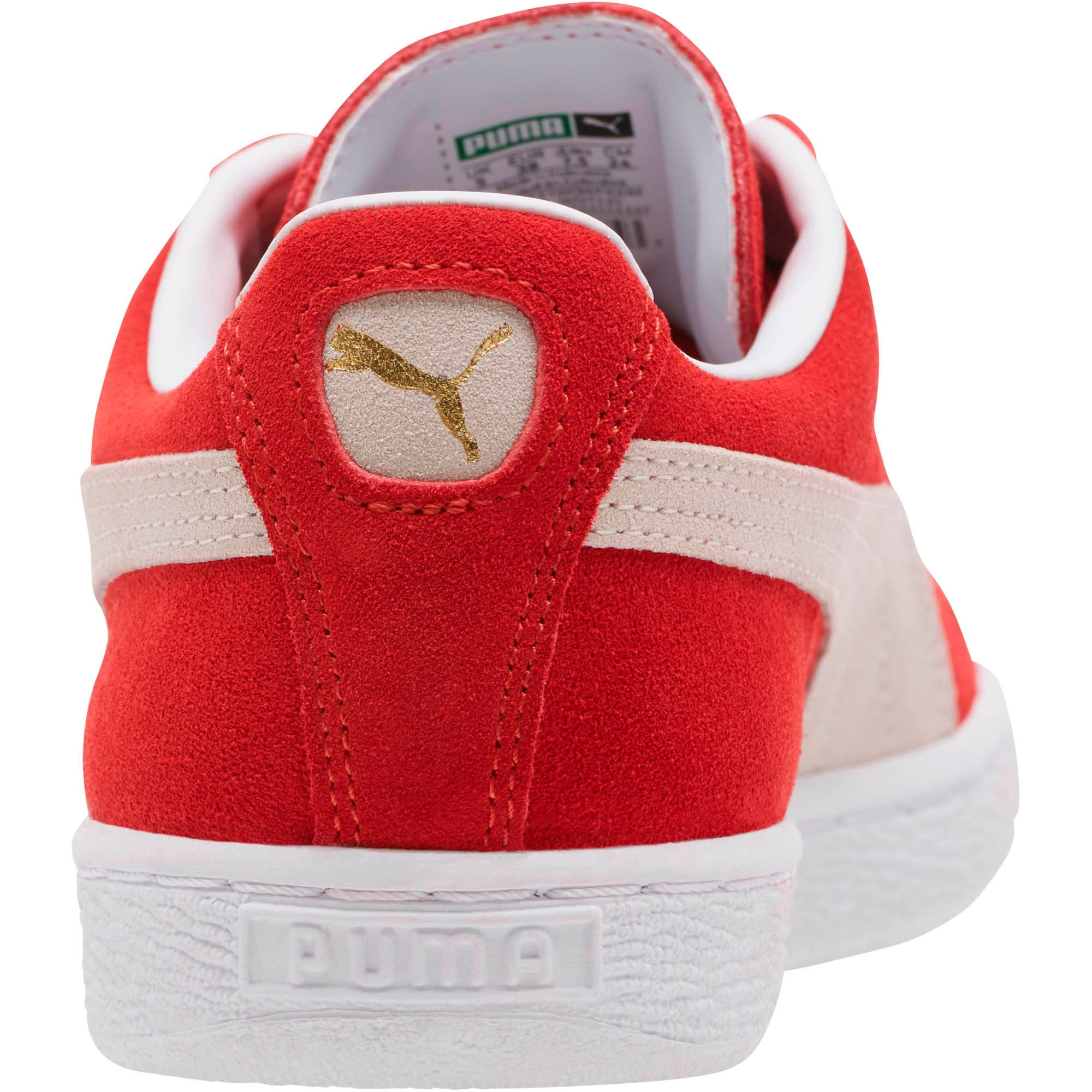 Thumbnail 5 of Suede Classic + Women's Sneakers, high risk red-white, medium
