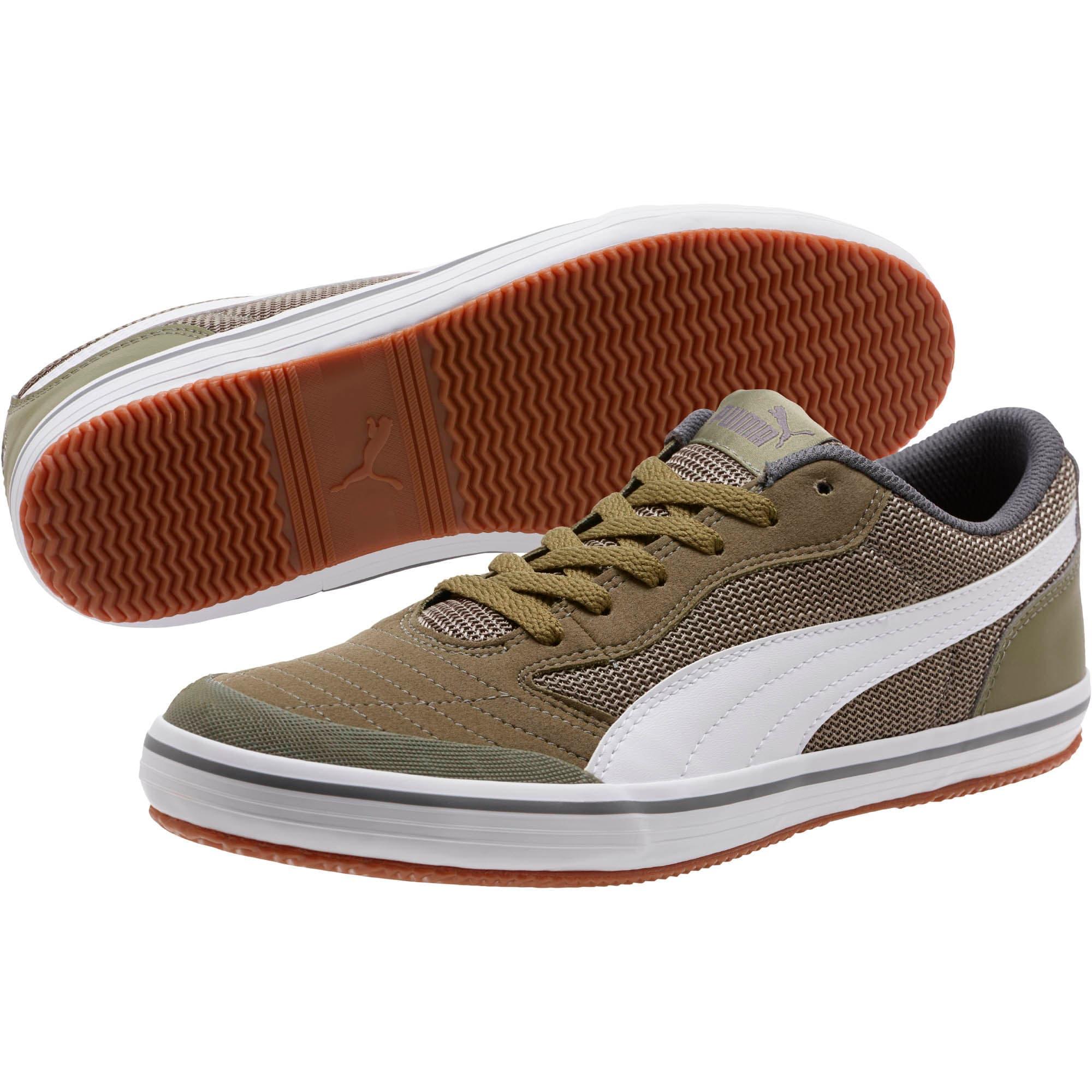 Thumbnail 2 of Astro Sala Sneakers, Burnt Olive-Puma White, medium