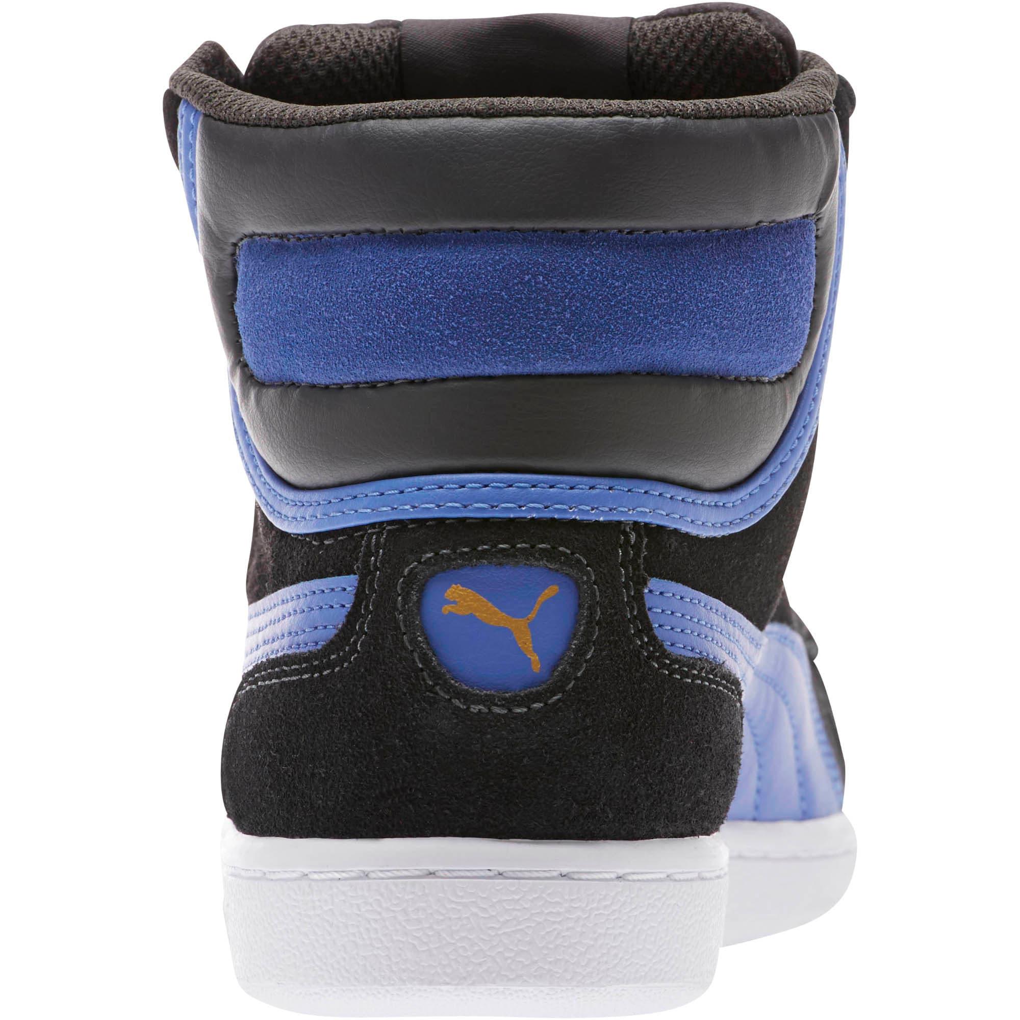 Thumbnail 4 of Vikky Mid Women's High Top Sneakers, Asphalt-Baja Blue, medium