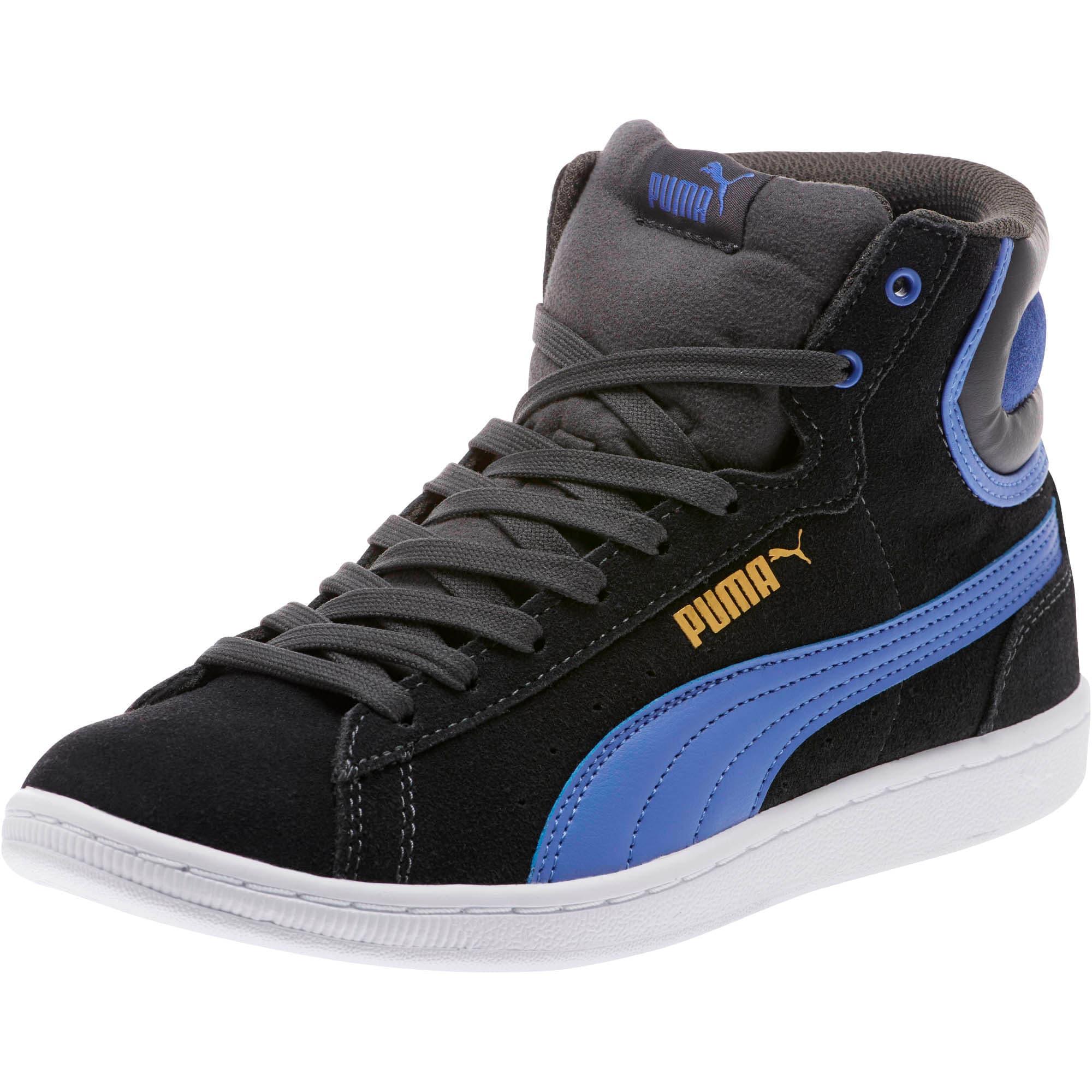 Thumbnail 1 of Vikky Mid Women's High Top Sneakers, Asphalt-Baja Blue, medium