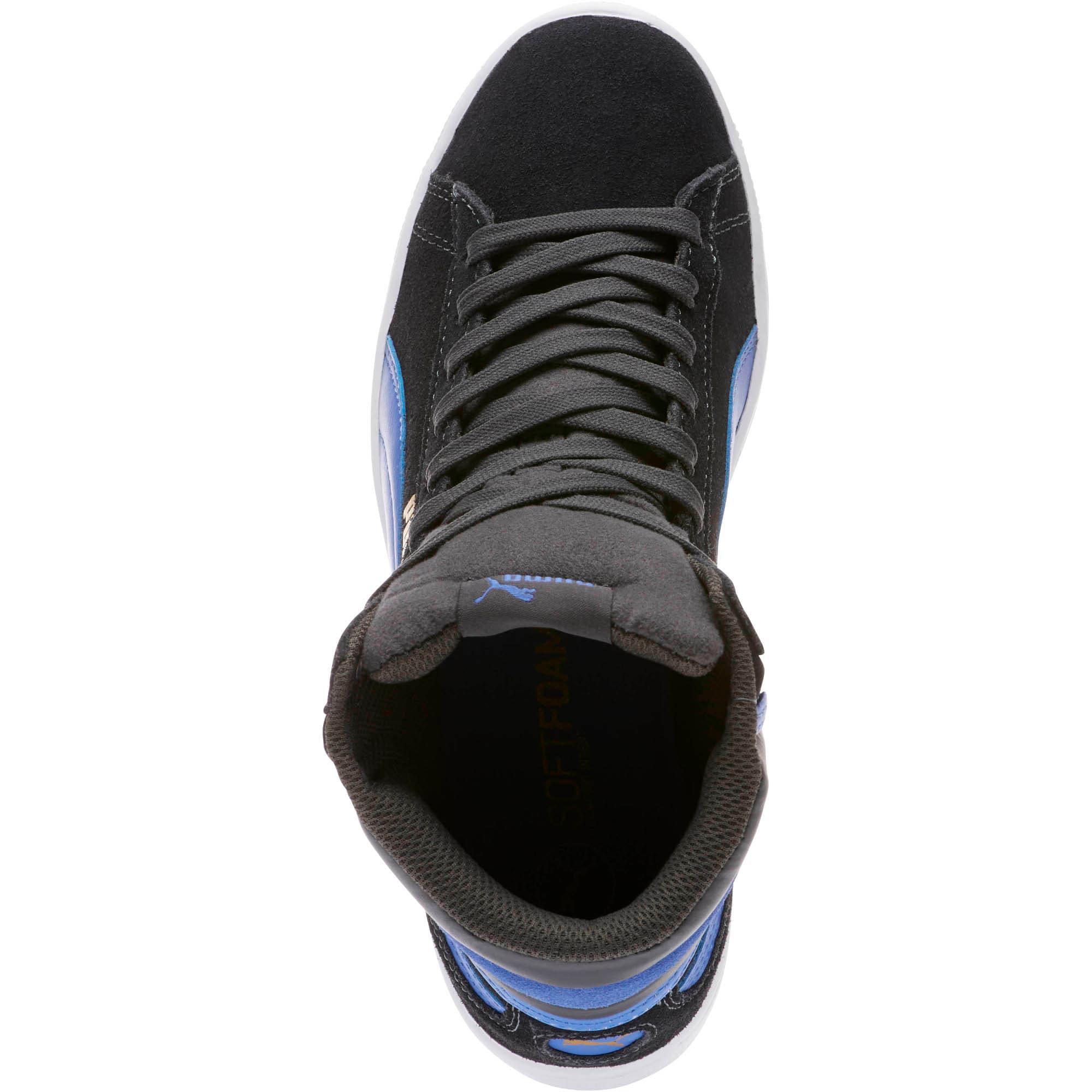 Thumbnail 5 of Vikky Mid Women's High Top Sneakers, Asphalt-Baja Blue, medium