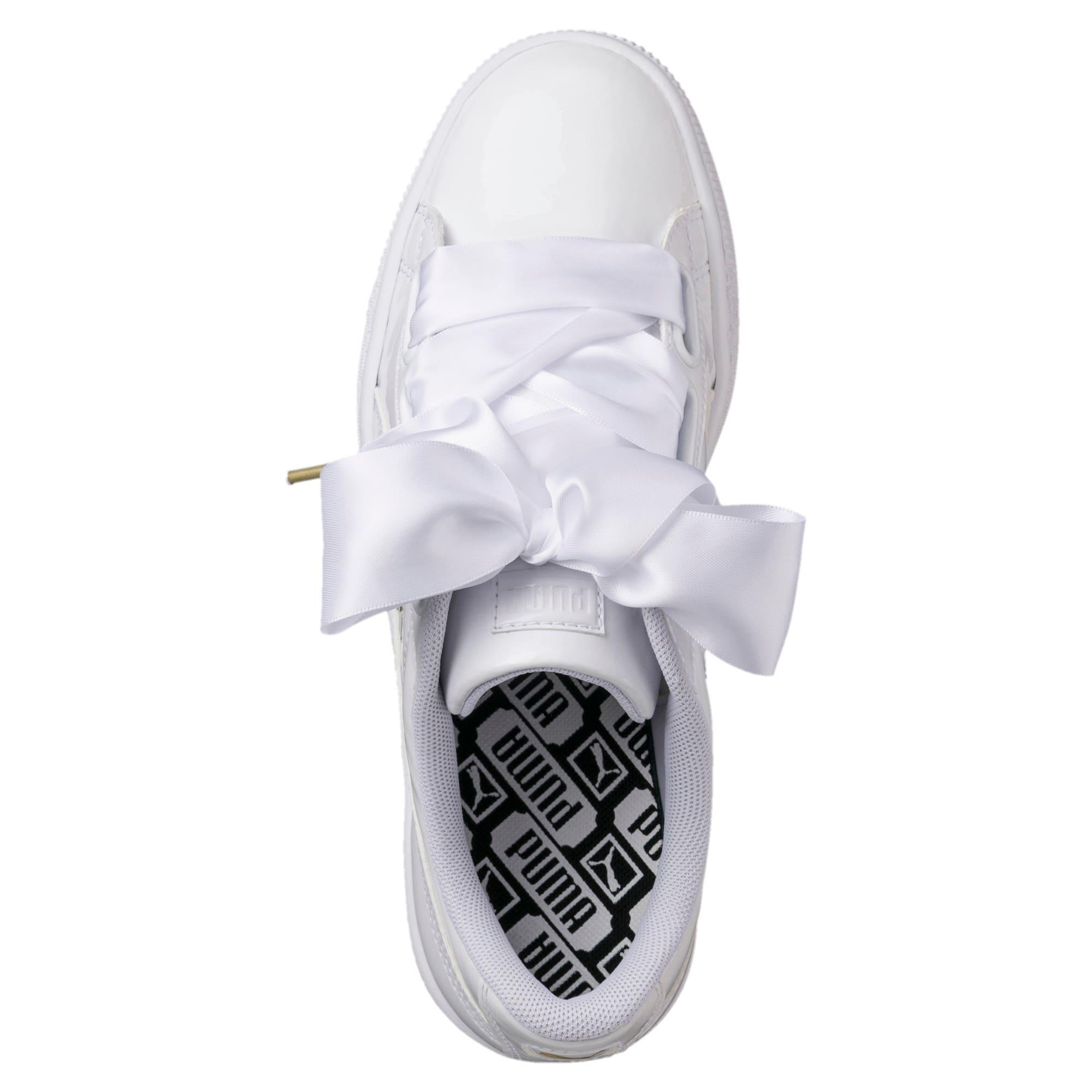 fc0d9c08 Basket Heart Patent Women's Sneakers