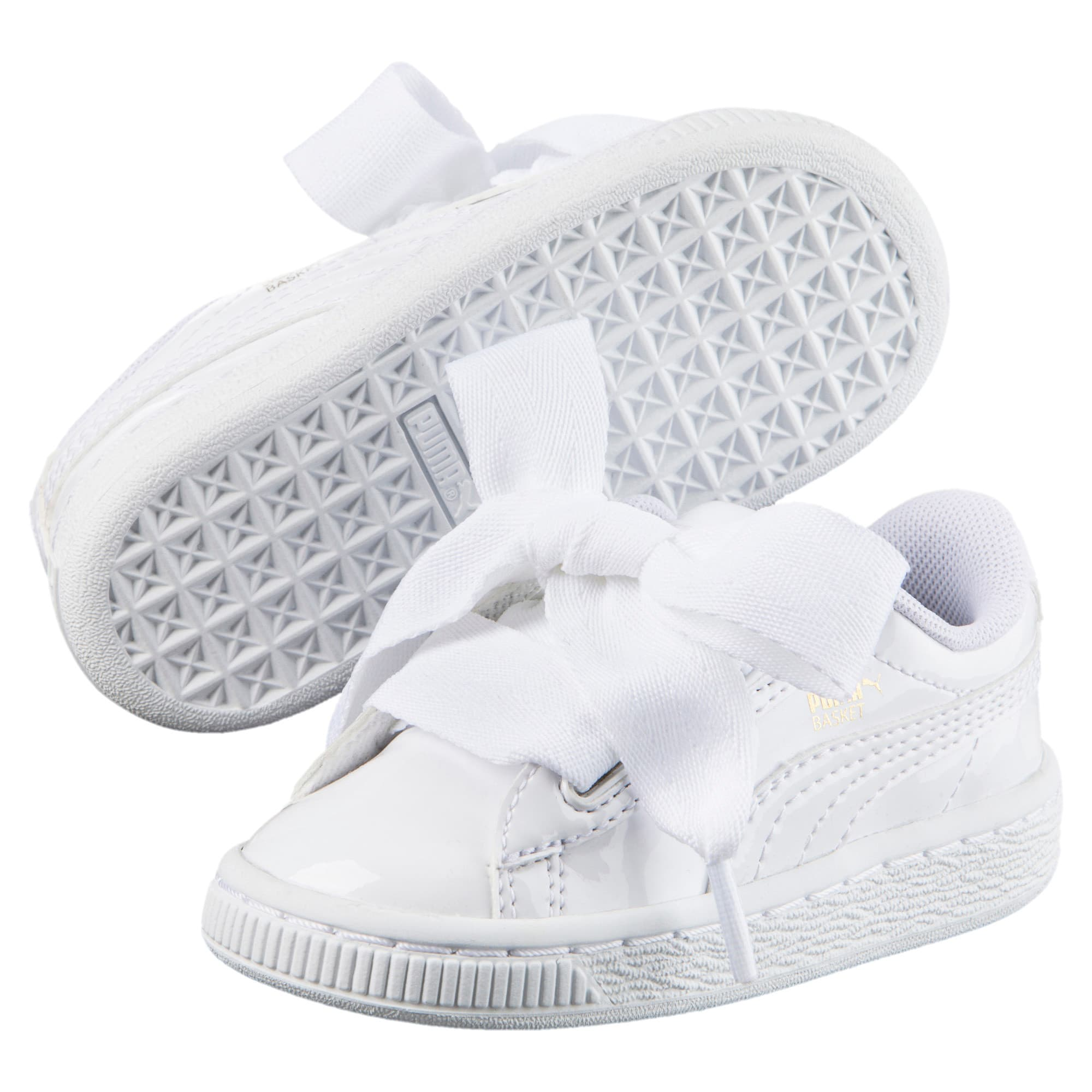 hot sale online bf4c3 ea203 Basket Heart Patent Little Kids' Shoes