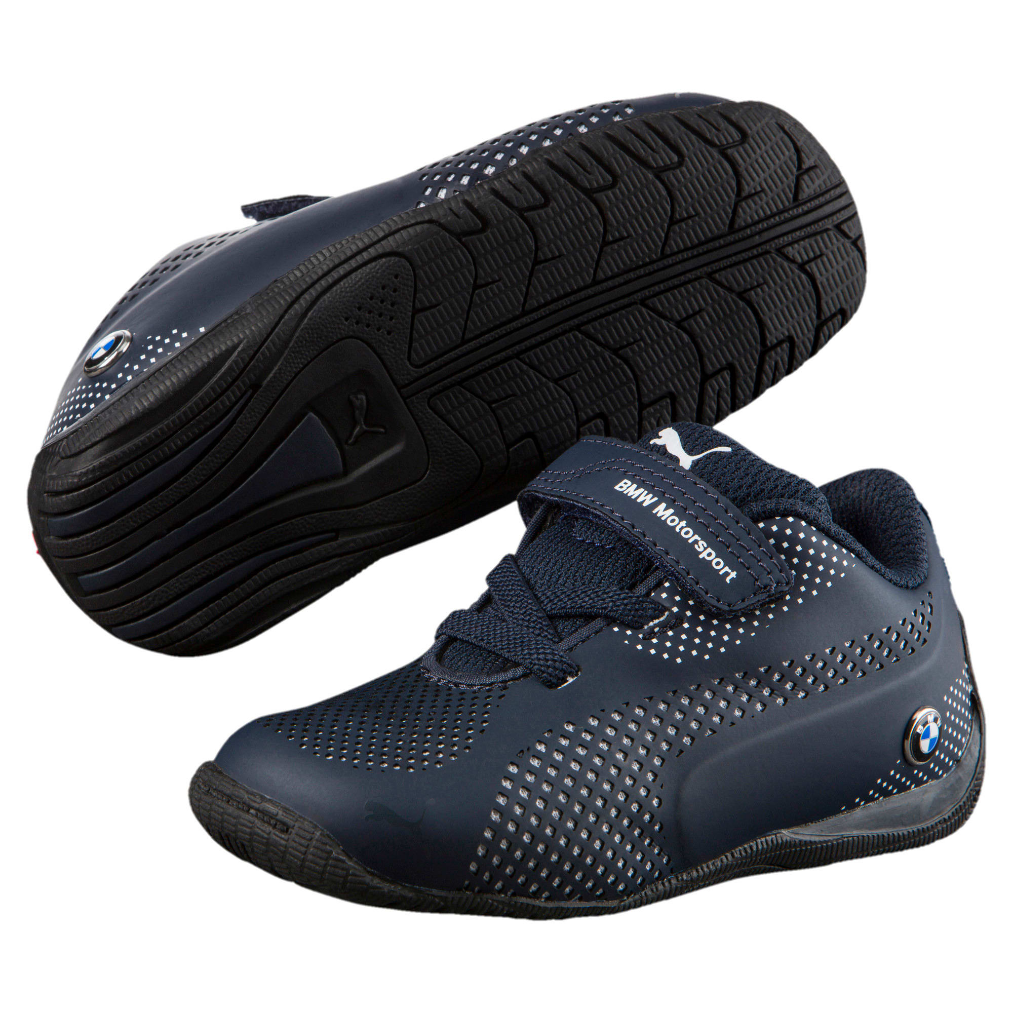Thumbnail 5 of BMW MS Drift Cat 5 Ultra Toddler Shoes, Team Blue-Puma White, medium