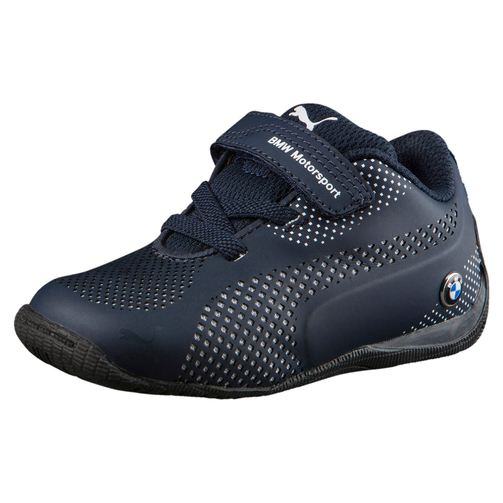 Thumbnail 1 of BMW MS Drift Cat 5 Ultra Toddler Shoes, Team Blue-Puma White, medium