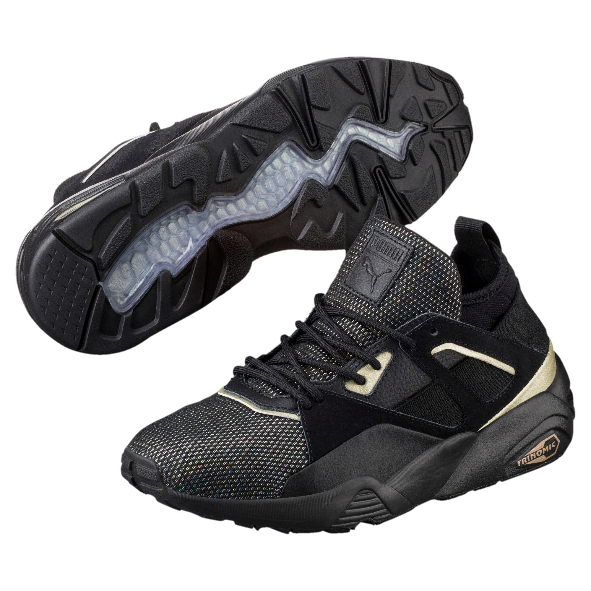 Scarpe da ginnastica B.O.G Sock Reset Metallic donna | Cyber