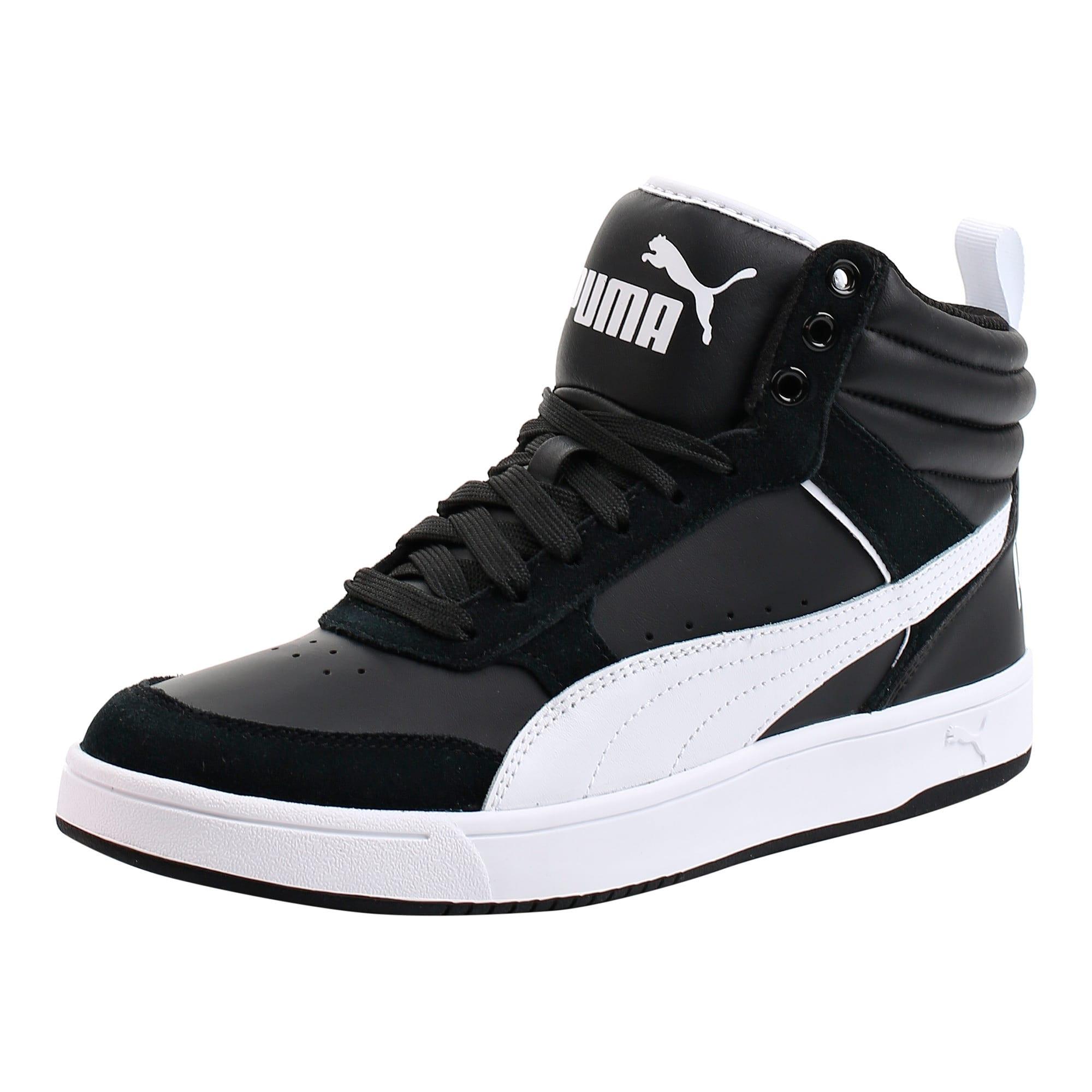 Thumbnail 1 of Puma Rebound Street v2 Sneakers, Puma Black-Puma White, medium