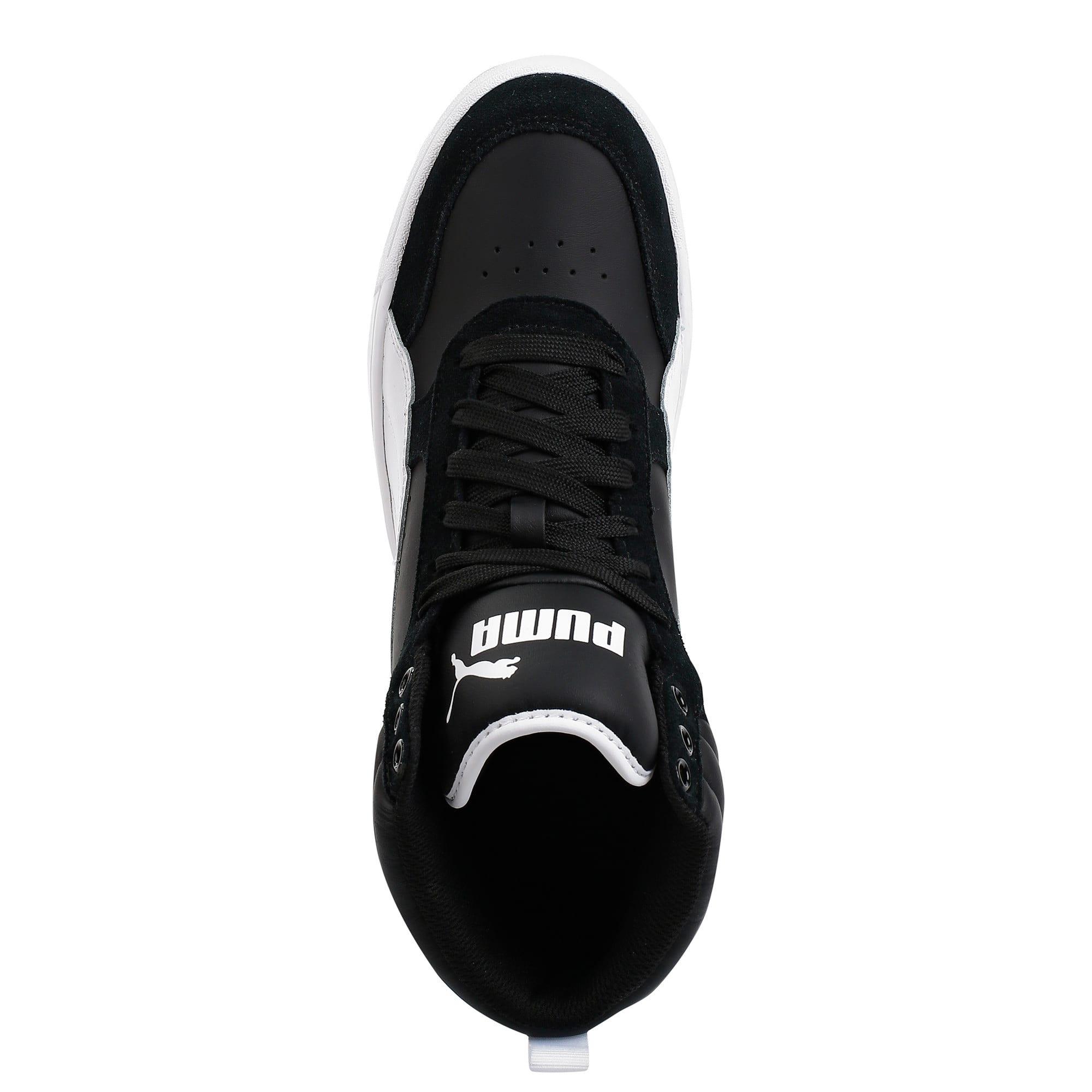 Thumbnail 5 of Puma Rebound Street v2 Sneakers, Puma Black-Puma White, medium