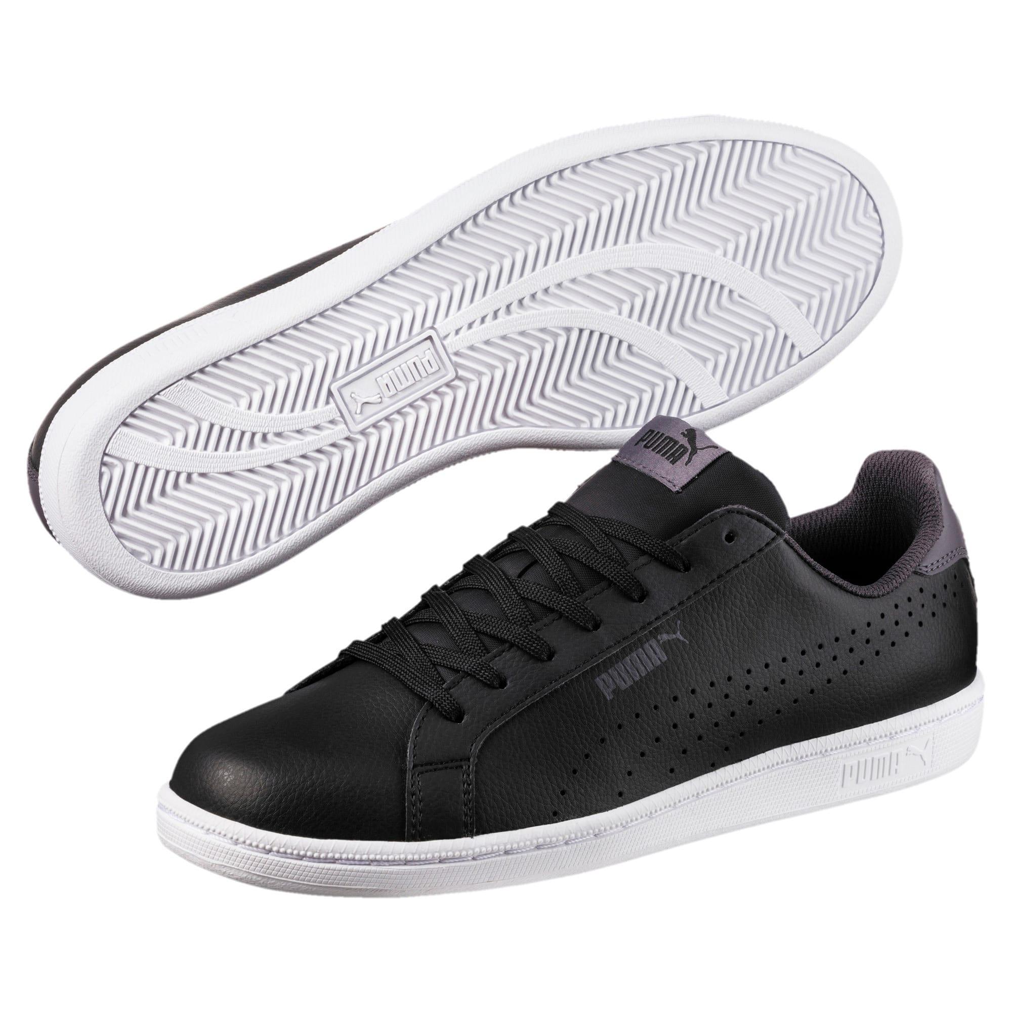 Thumbnail 2 of PUMA Smash Perf Sneakers, Puma Black-Periscope, medium