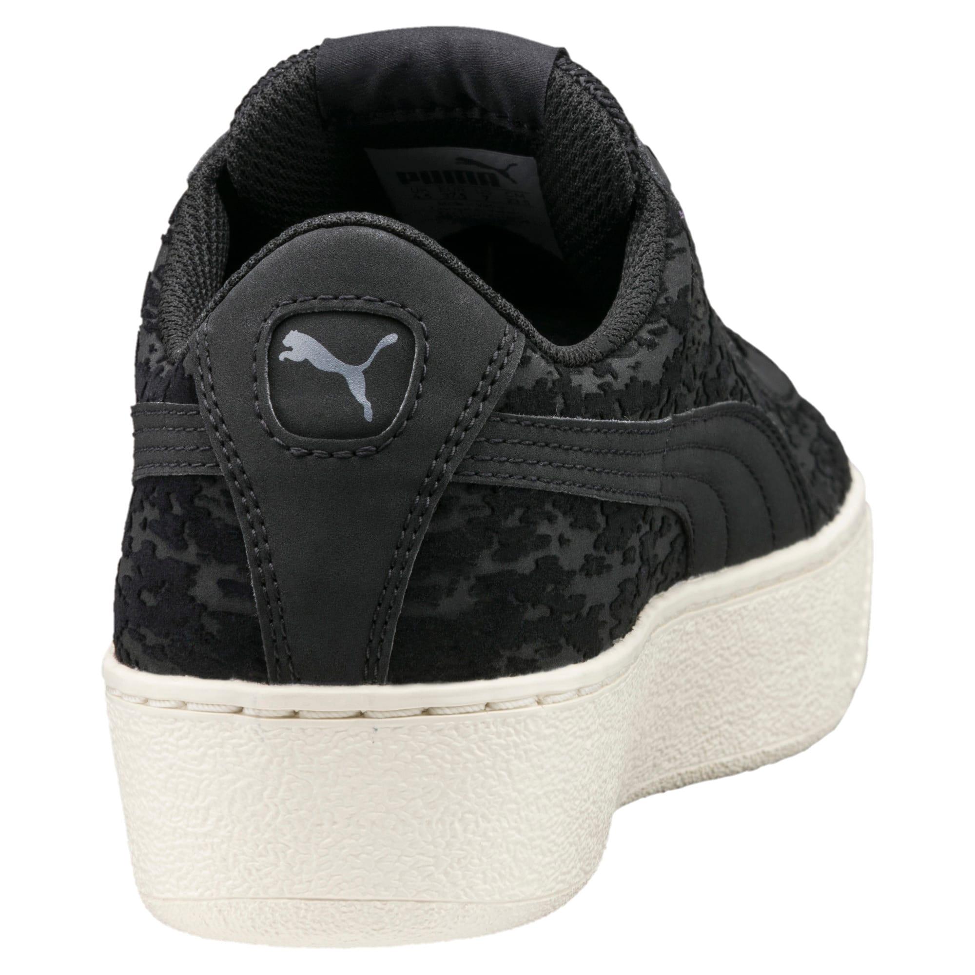 Thumbnail 4 of Vikky Platform Velvet Rope Women's Sneakers, Puma Black-Puma Black, medium