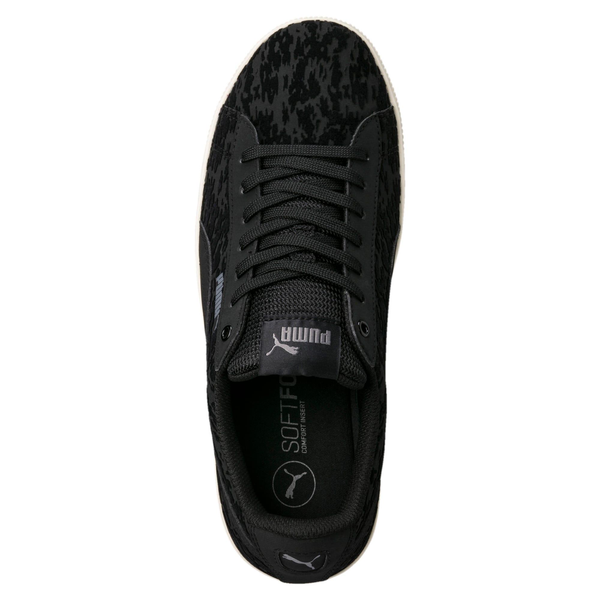 Thumbnail 5 of Vikky Platform Velvet Rope Women's Sneakers, Puma Black-Puma Black, medium