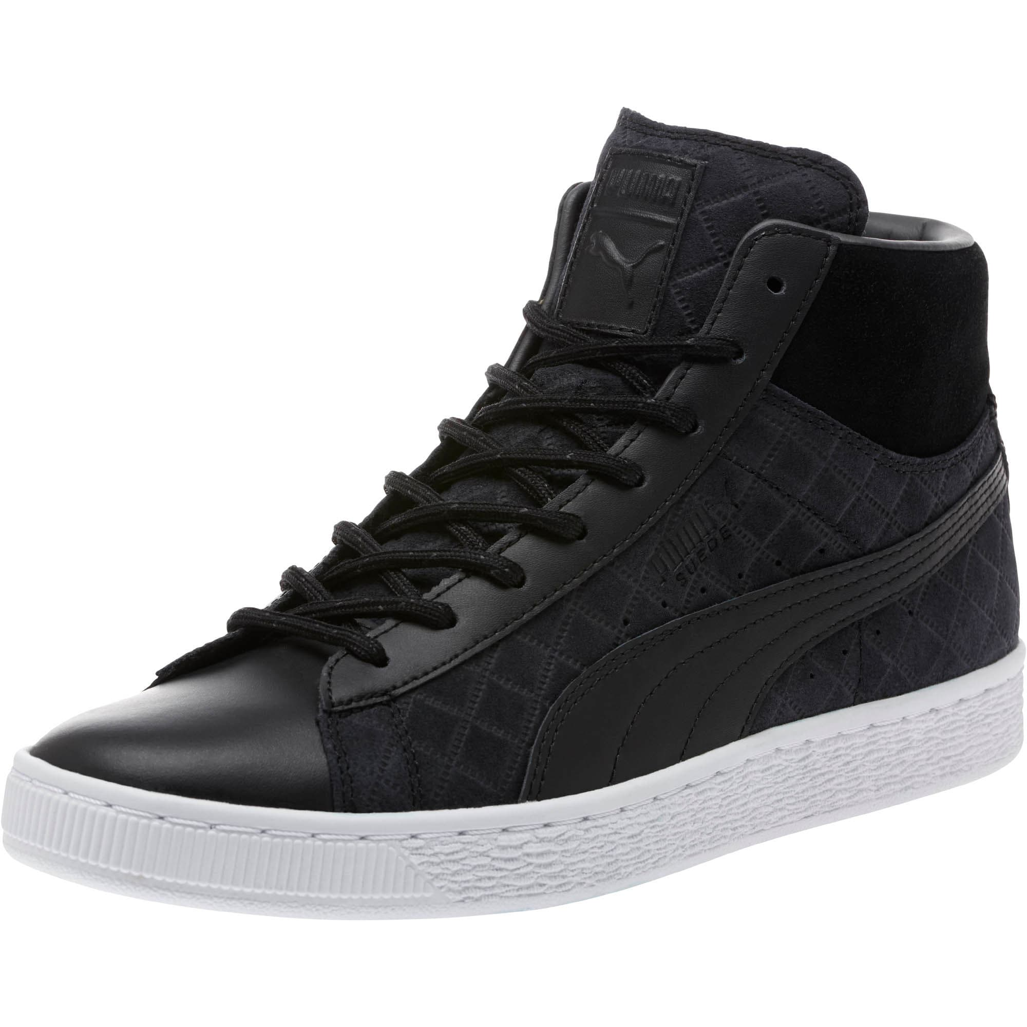 Suede Classic Mid Quilt Sneakers