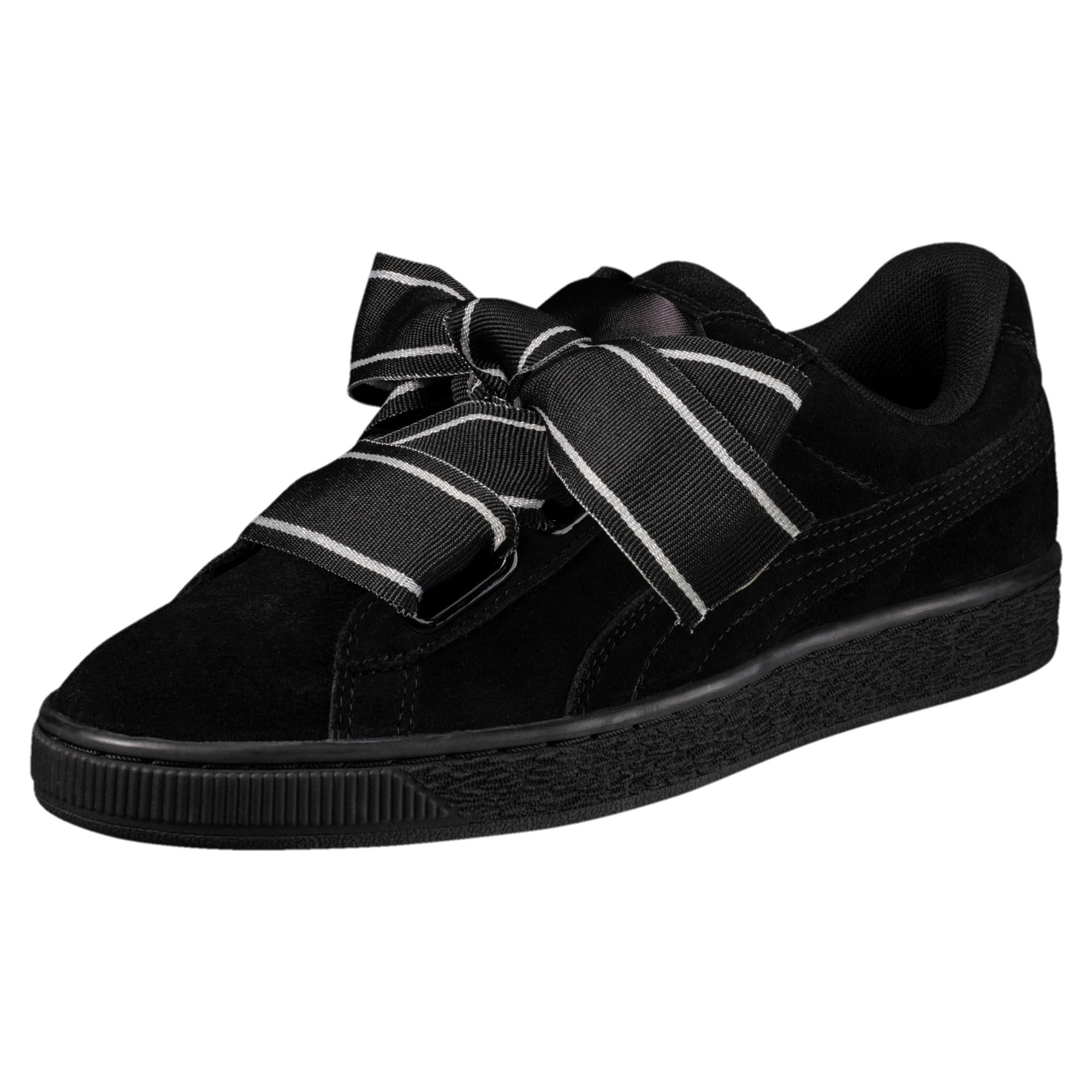 promo code f2f0c 89ba8 Suede Heart Satin II Women's Sneakers